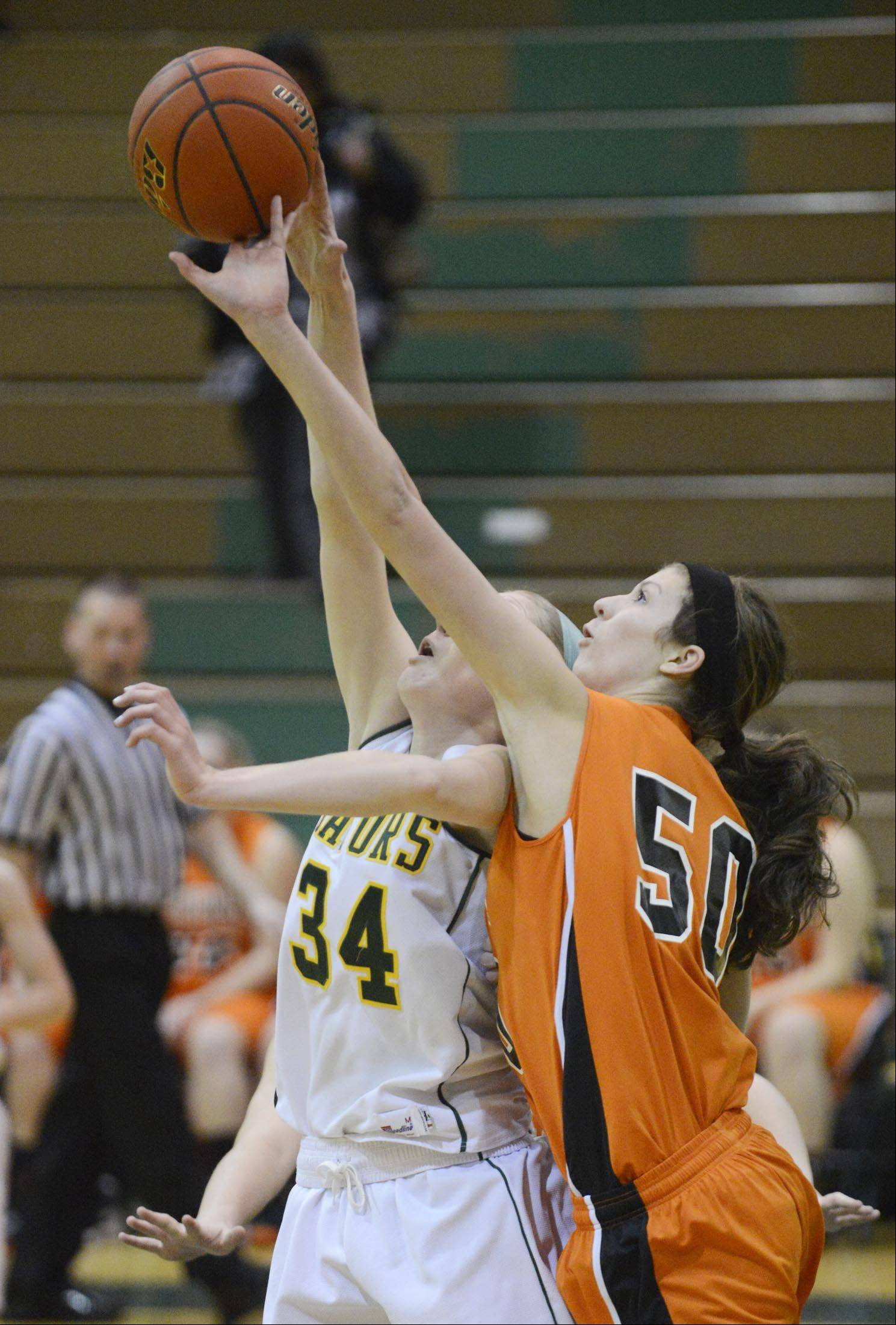Images from the McHenry vs. Crystal Lake South girls basketball game Wednesday, January 16, 2013.