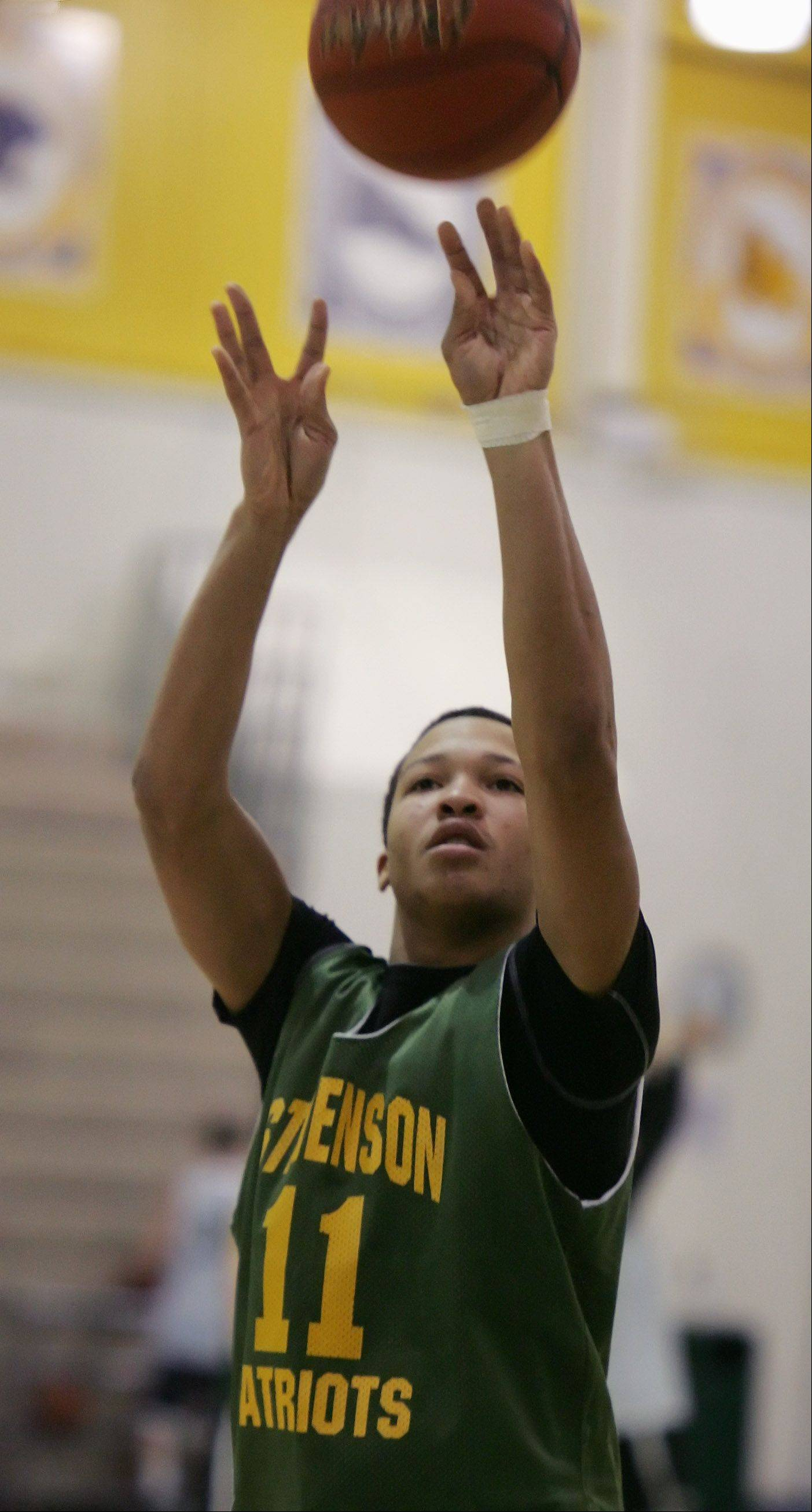 Stevenson point guard Jalen Brunson.