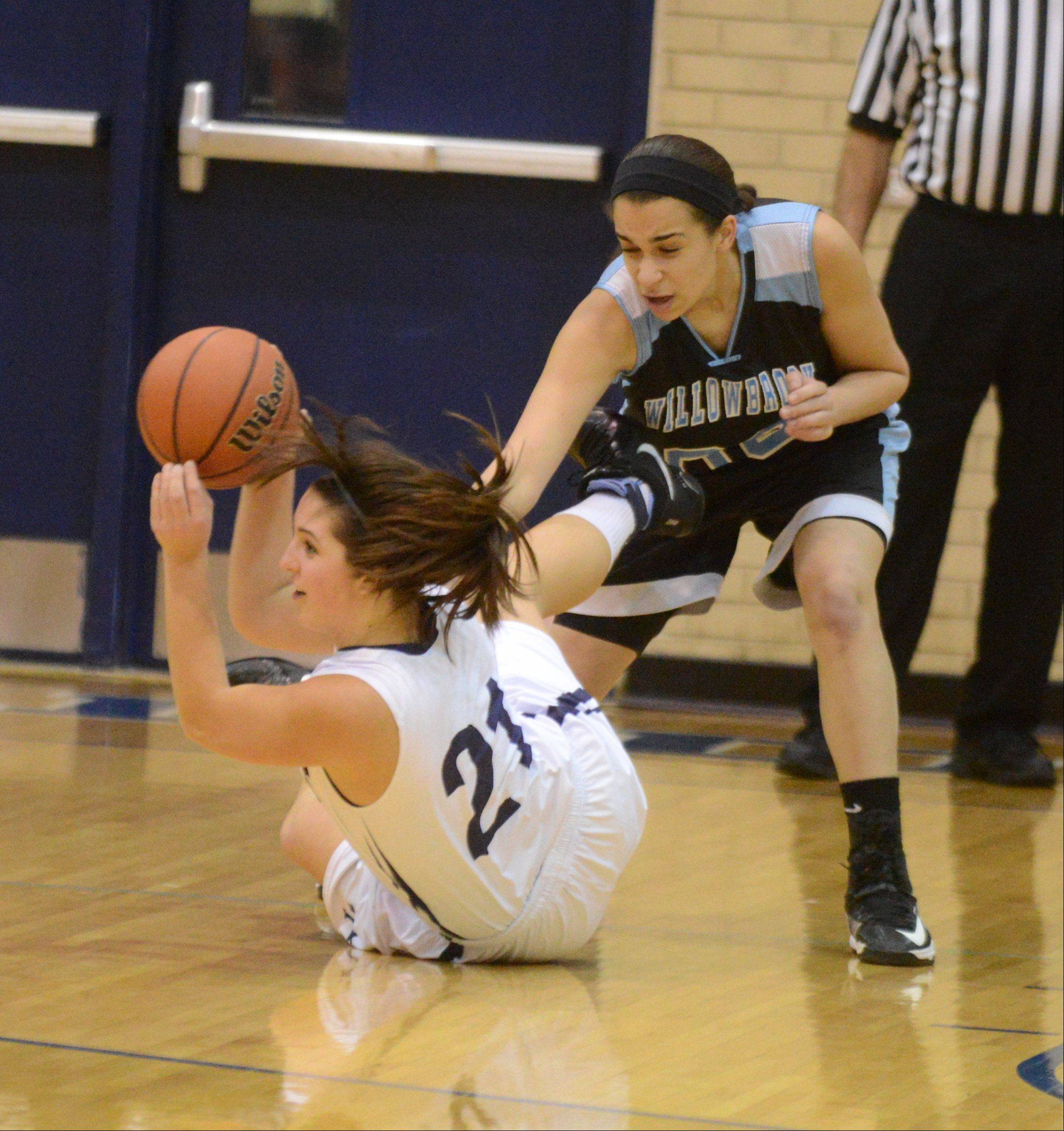 Addison Trail hosted Willowbrook Thursday night for girls basketball.
