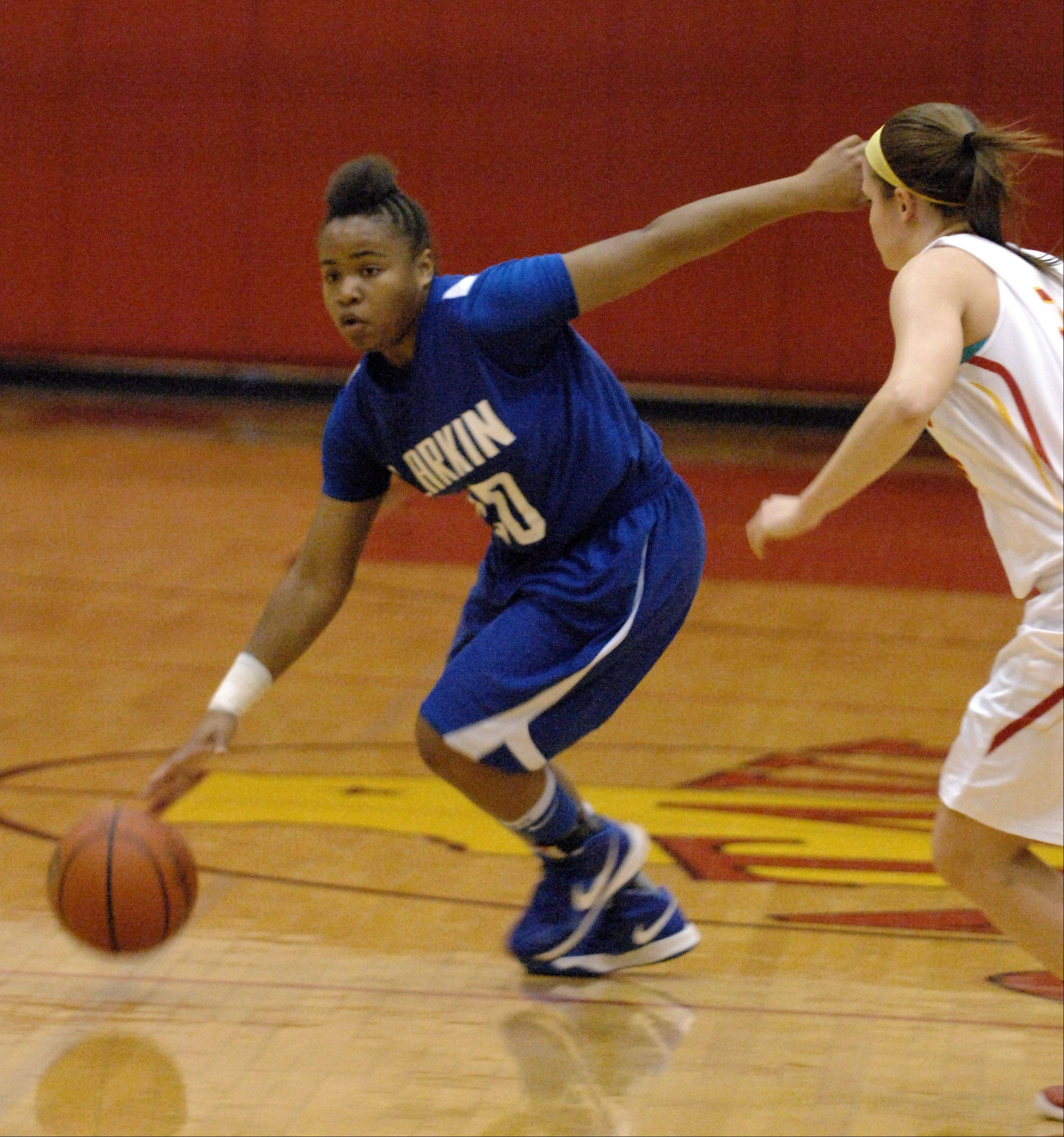 Images from the Larkin vs. Batavia girls basketball game Thursday, January 17, 2013.