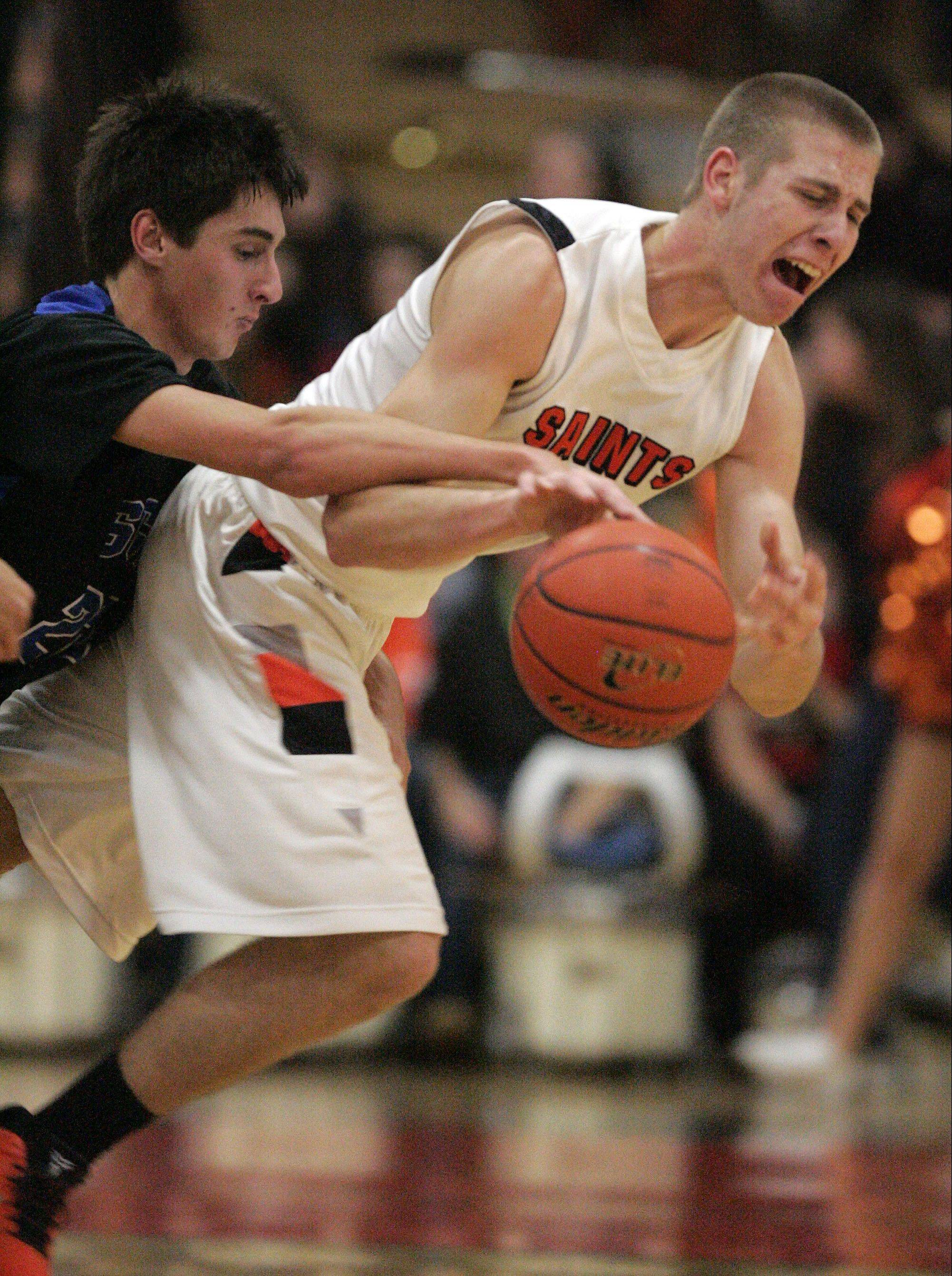 St. Charles East tops rival in OT