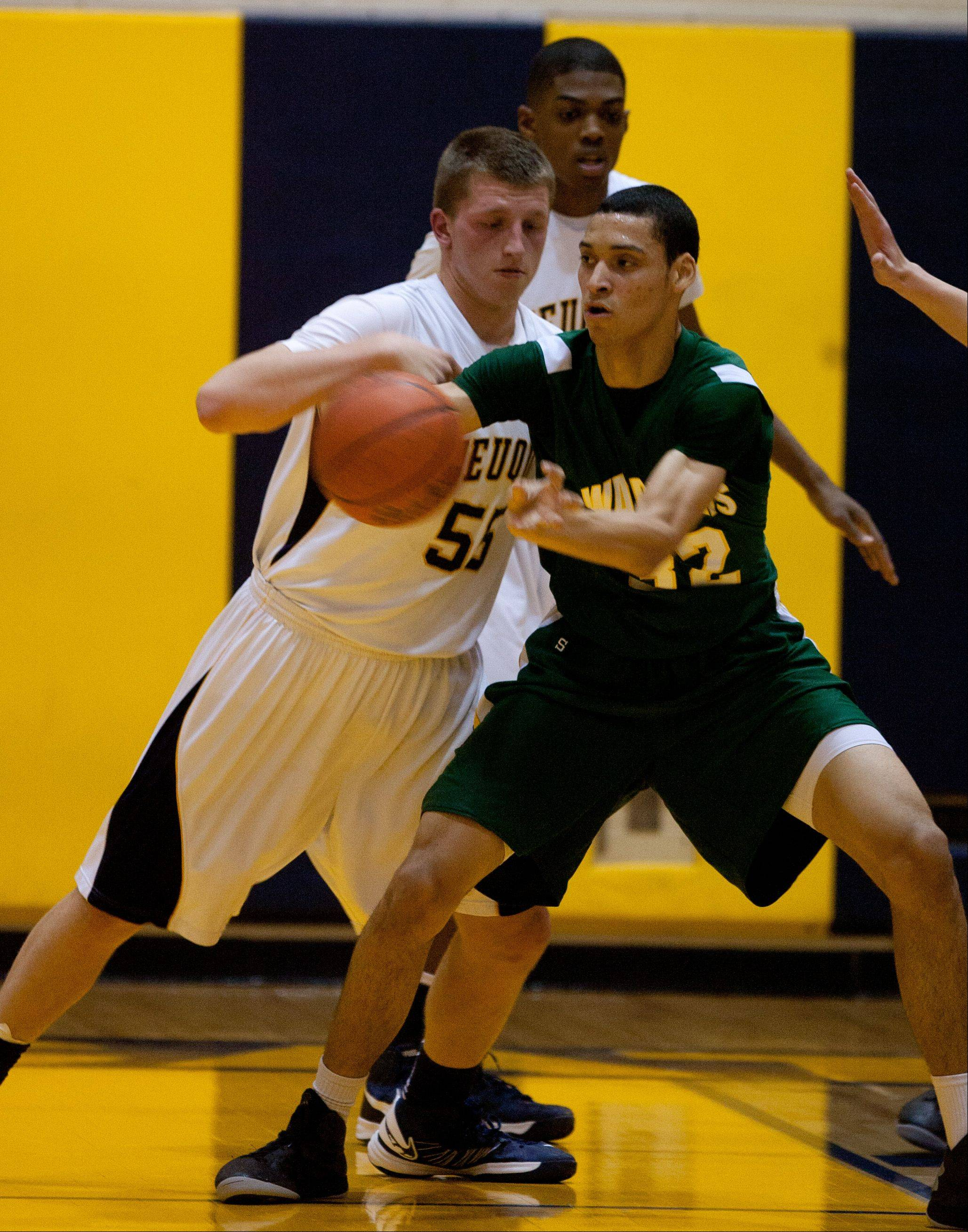 Neuqua Valley hosted Waubonsie Valley Friday night for boys basketball.