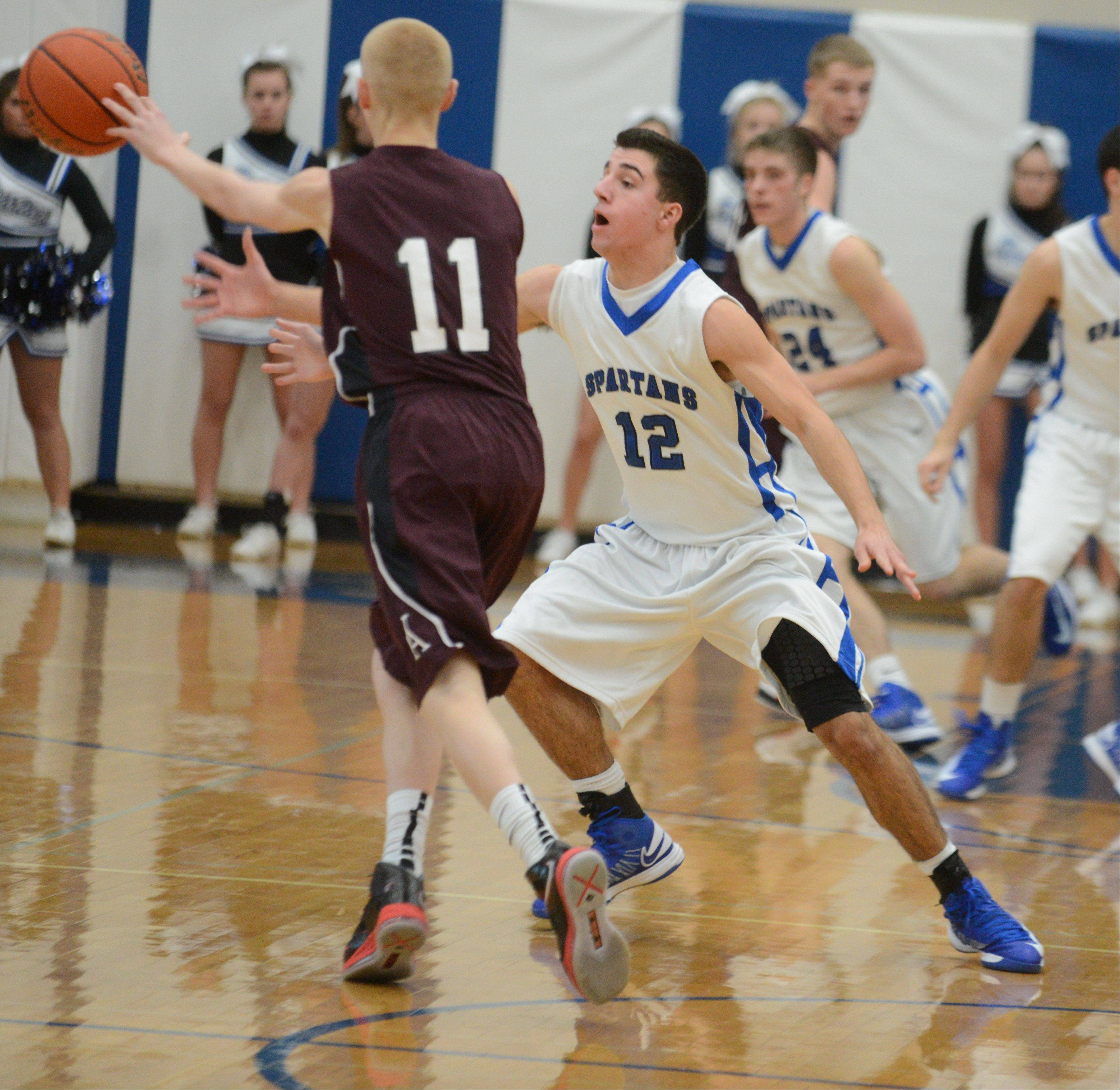 St. Francis High School hosted Wheaton Academy Friday night for boys basketball.