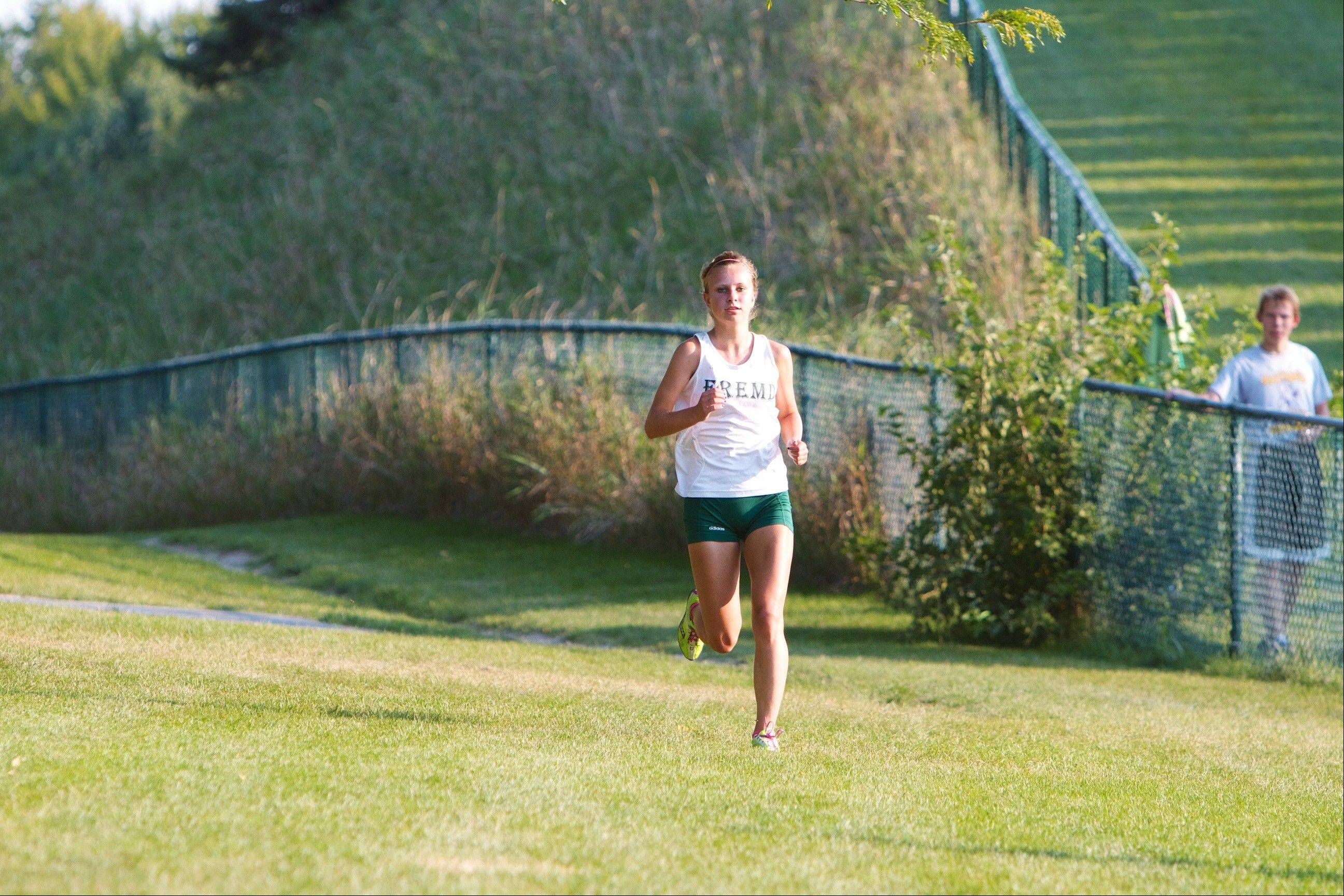 Fremd senior Kelly Breen has committed to a collegiate running future at Iowa.