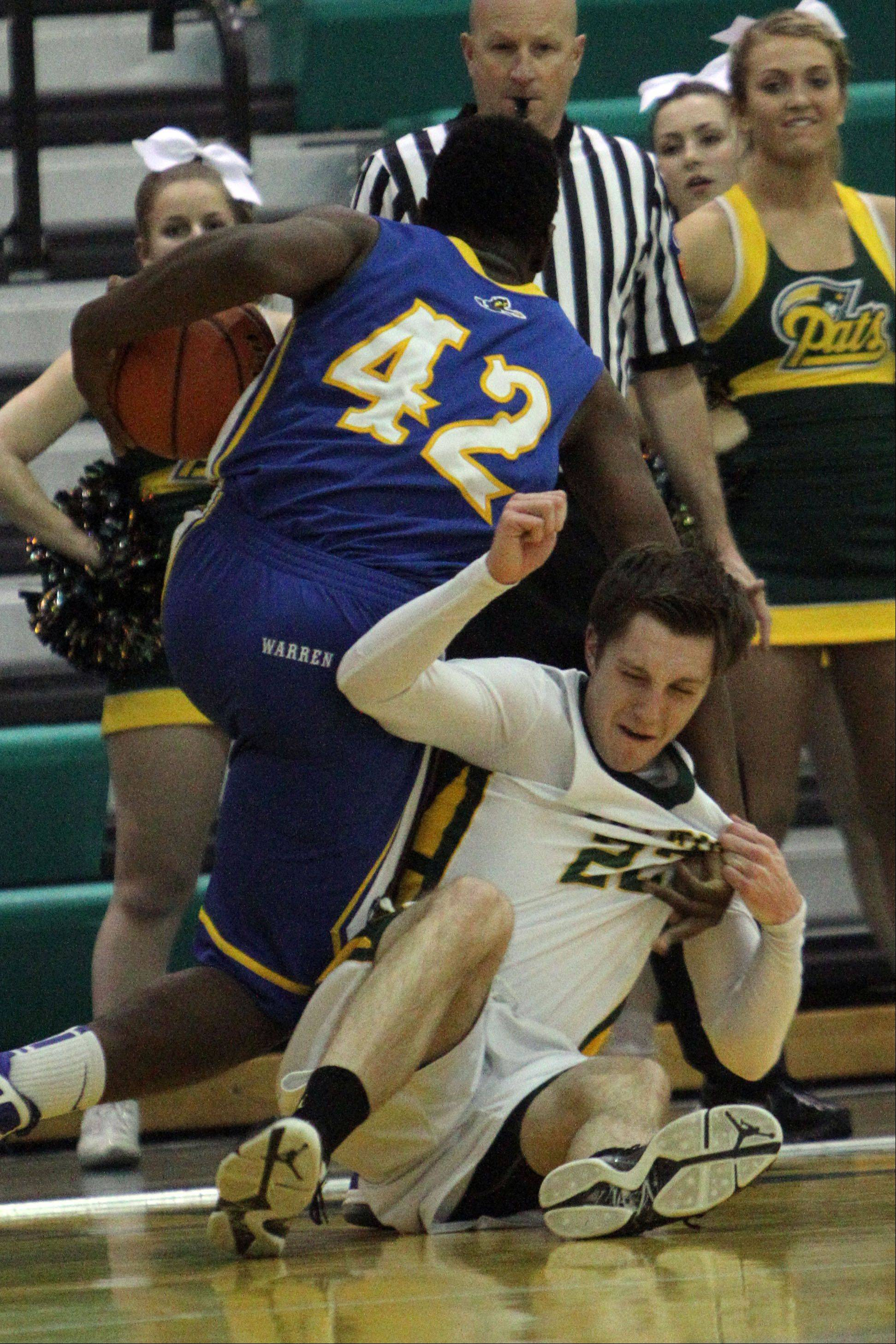 Images from the Warren at Stevenson boys basketball game Tuesday, Jan. 22.