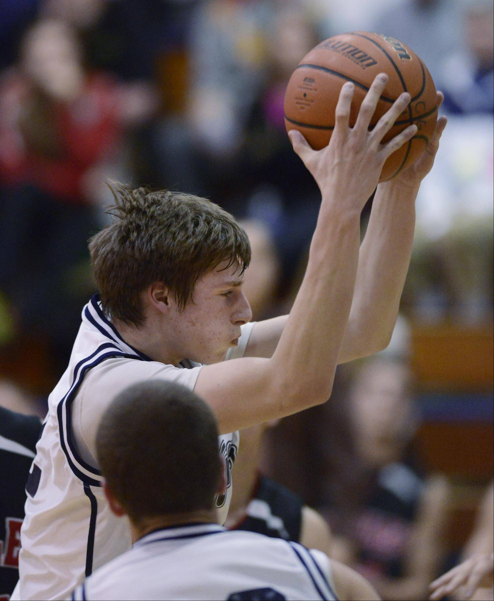 Images from the Huntley vs. Cary-Grove boys basketball game Tuesday, January 22, 2013.