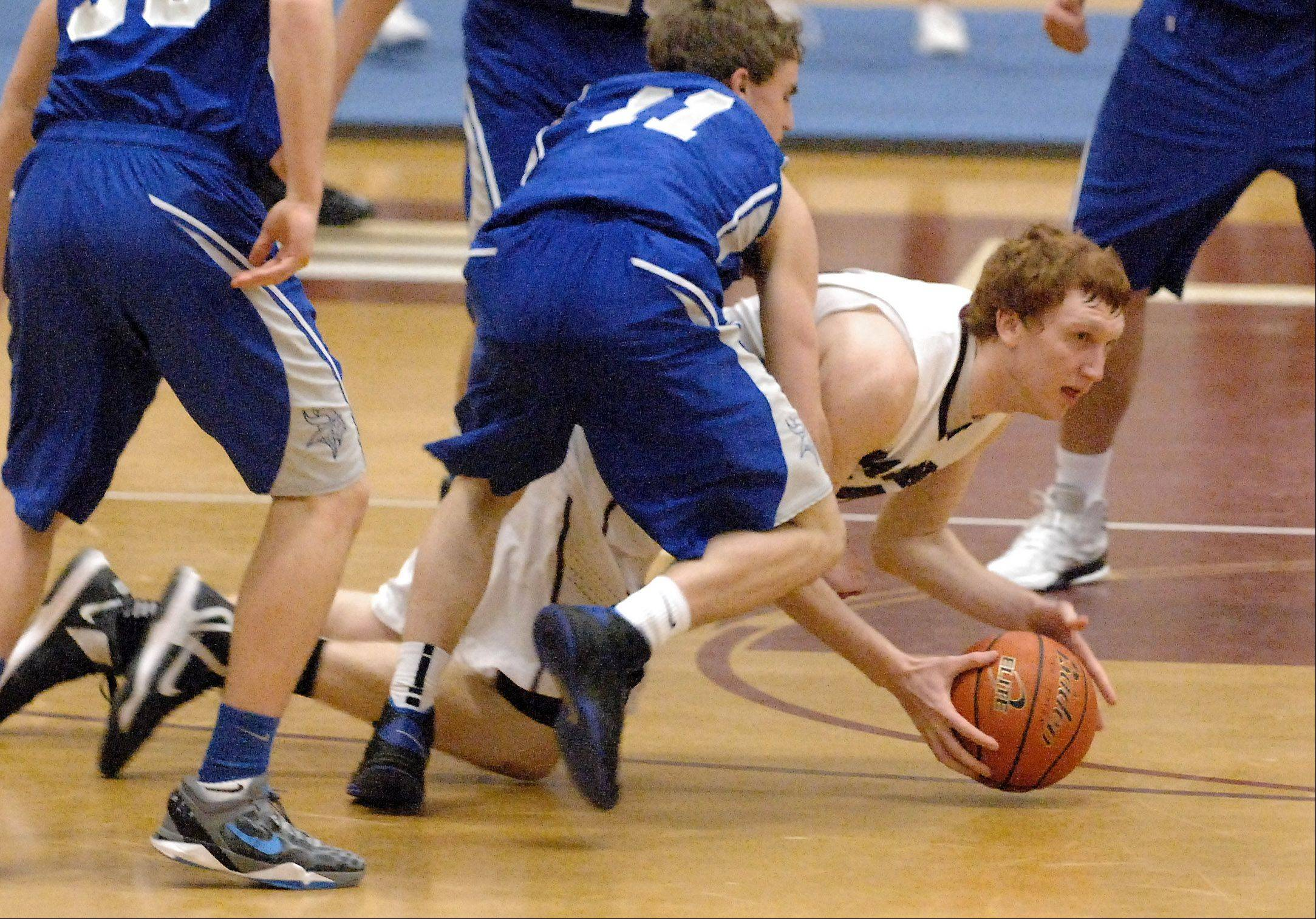 Images from the Geneva vs. Elgin boys basketball game Thursday, January 24, 2013.