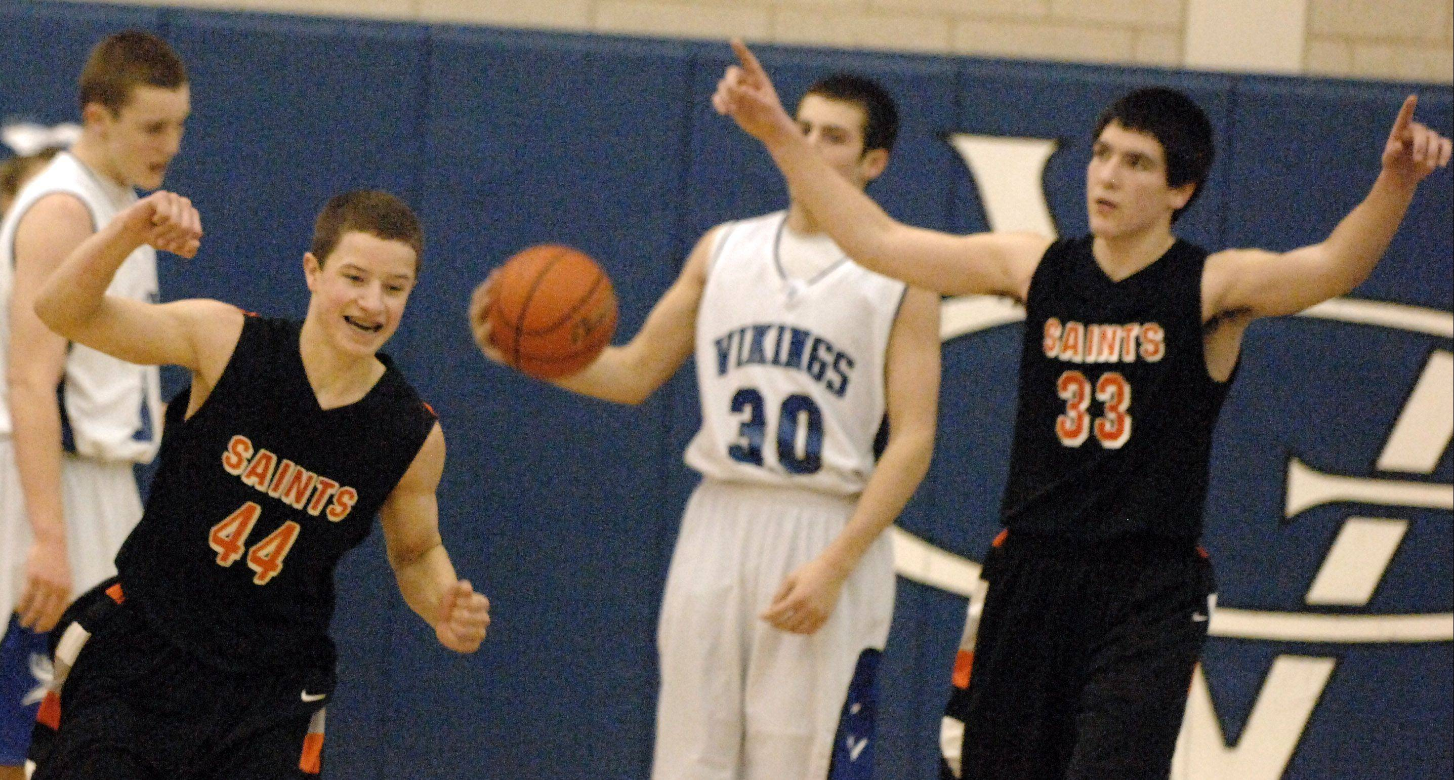 St. Charles East survives Geneva in 2 OTs