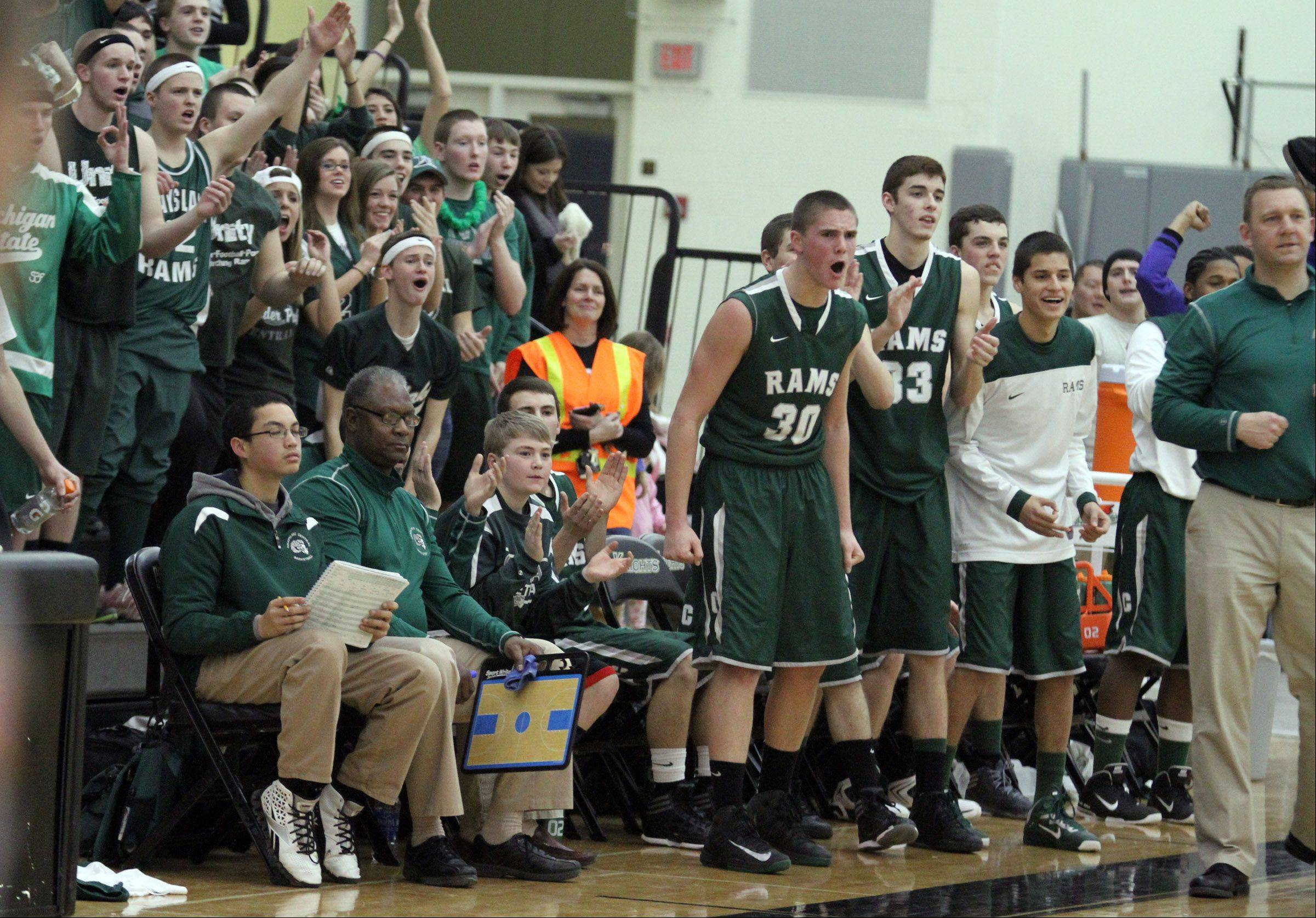 Images: Grayslake Central vs. Grayslake North, boys basketball