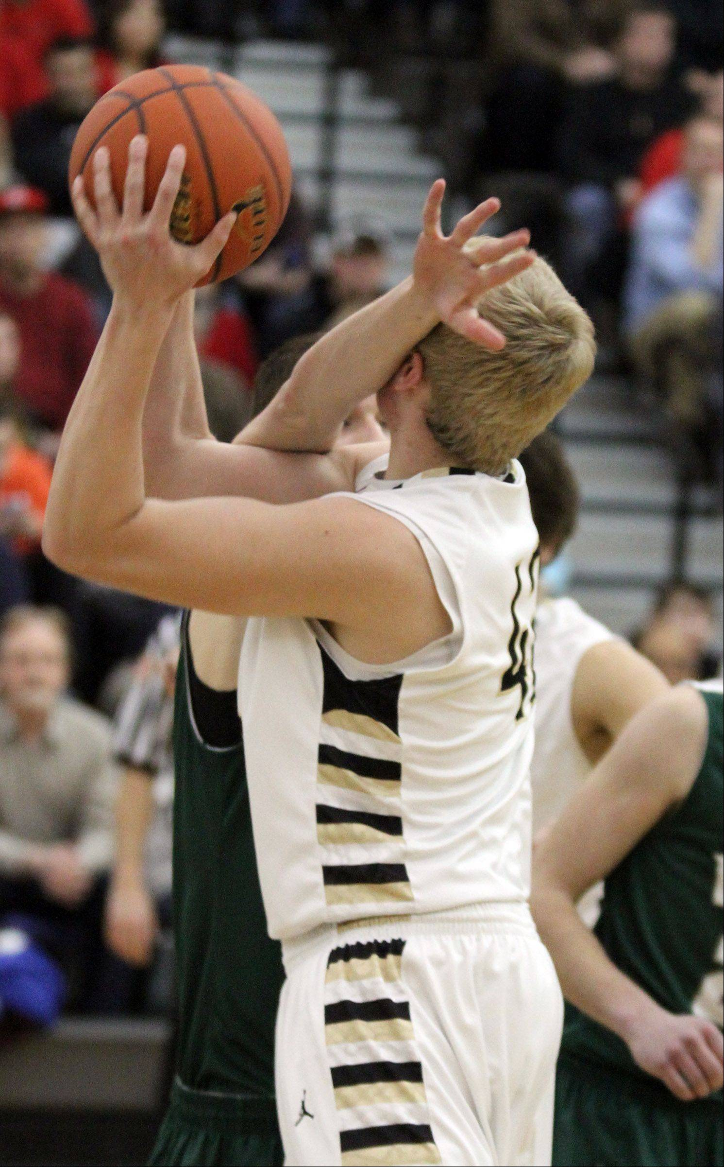 Images from the Grayslake Central at Grayslake North boys basketball game Friday, Jan. 25.