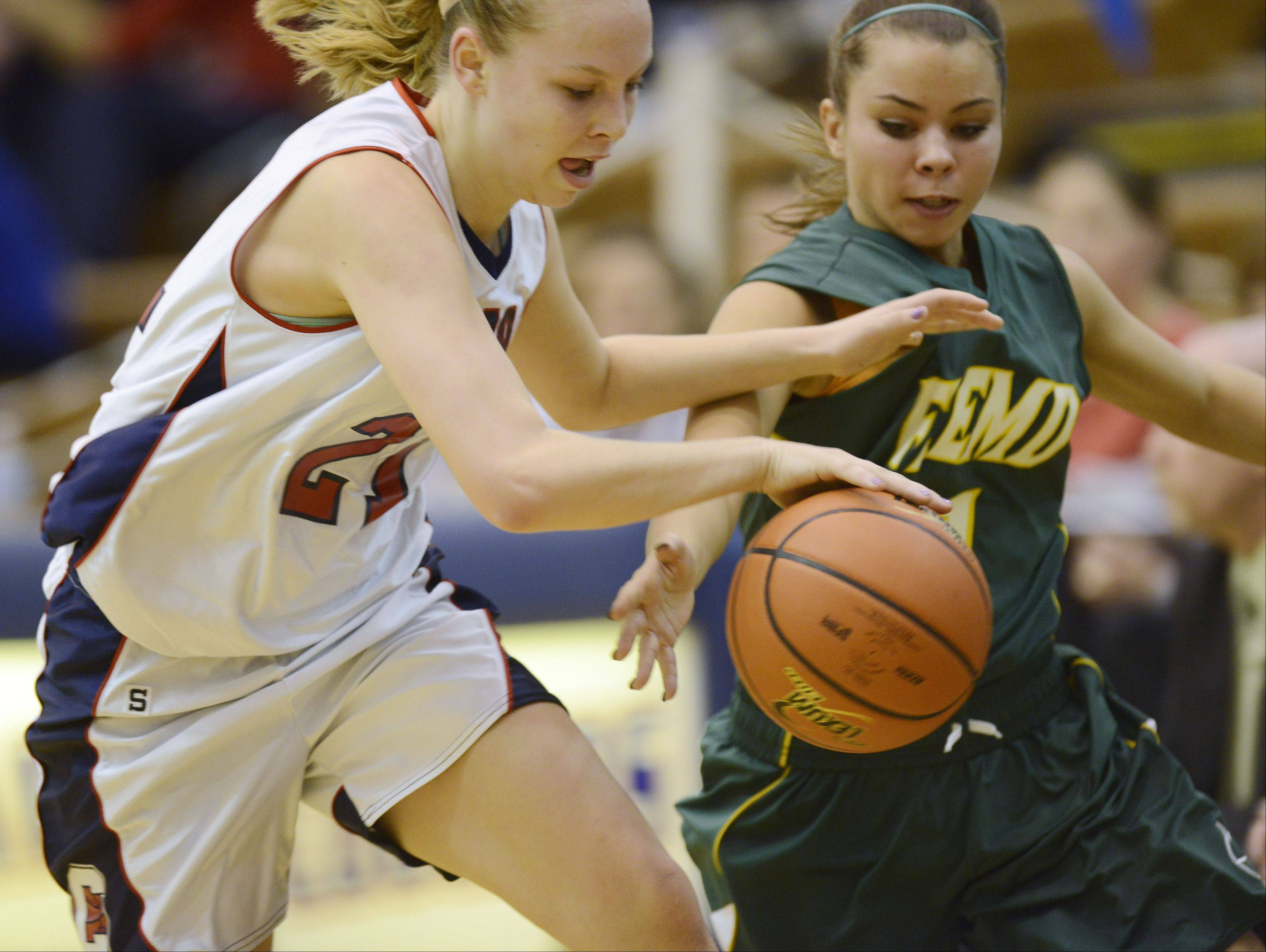 Images: Fremd vs. Conant, girls basketball