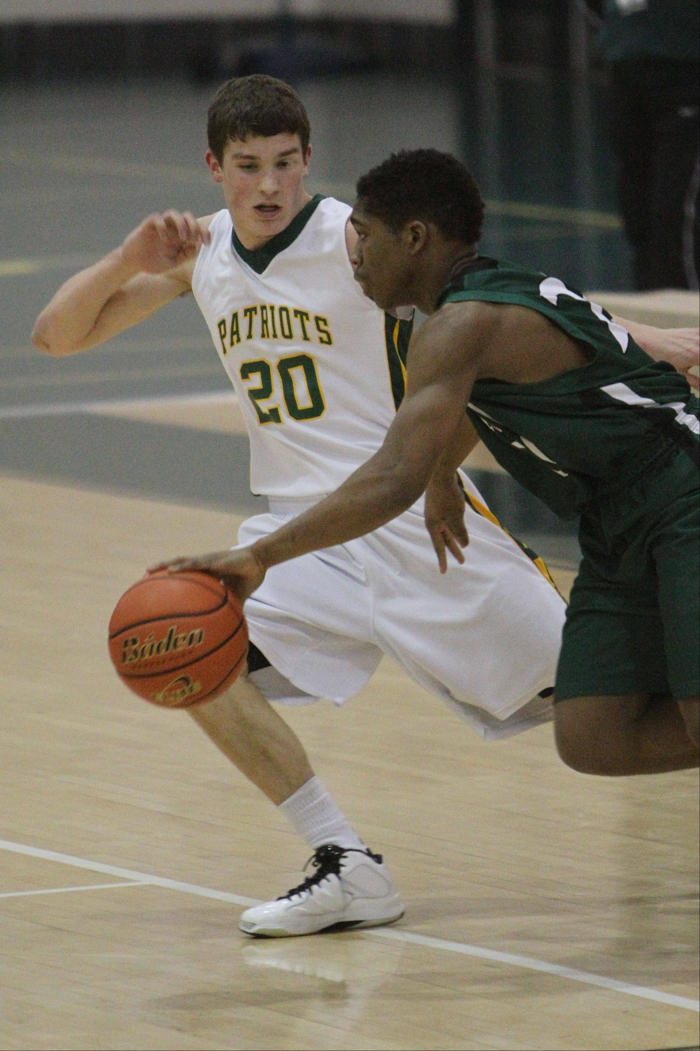Images from the Glenbard West at Stevenson boys basketball game on Tuesday, Jan. 29 in Lincolnshire.