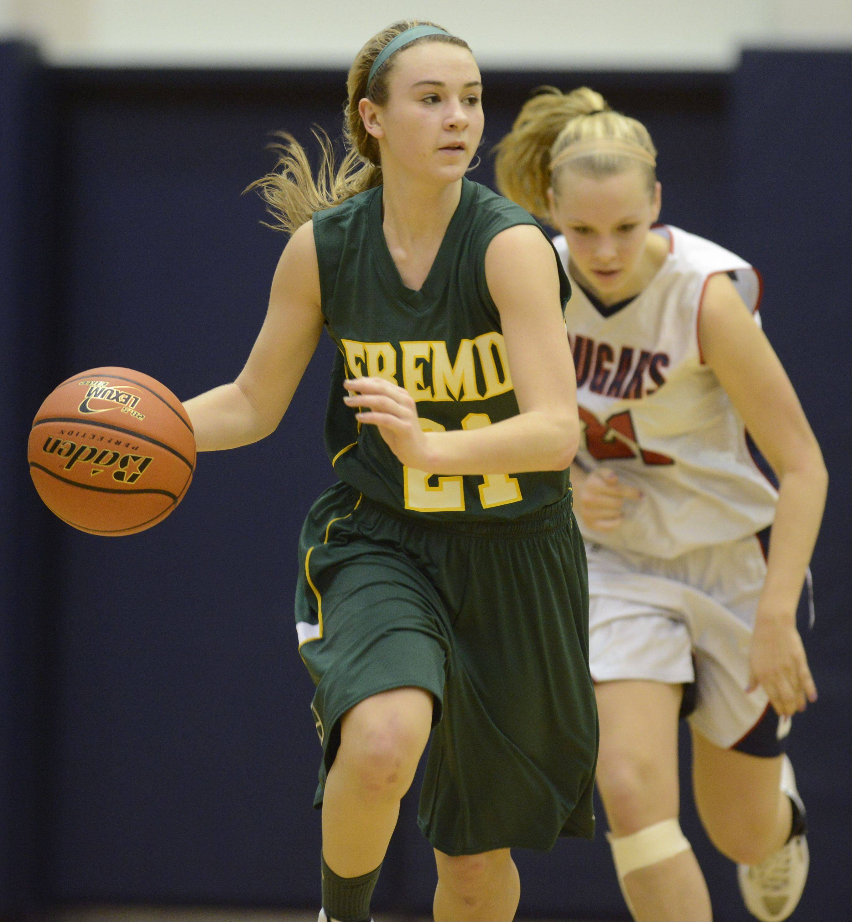 Images from the Fremd vs. Conant girls basketball game on Tuesday, January 29th, in Hoffman Estates.