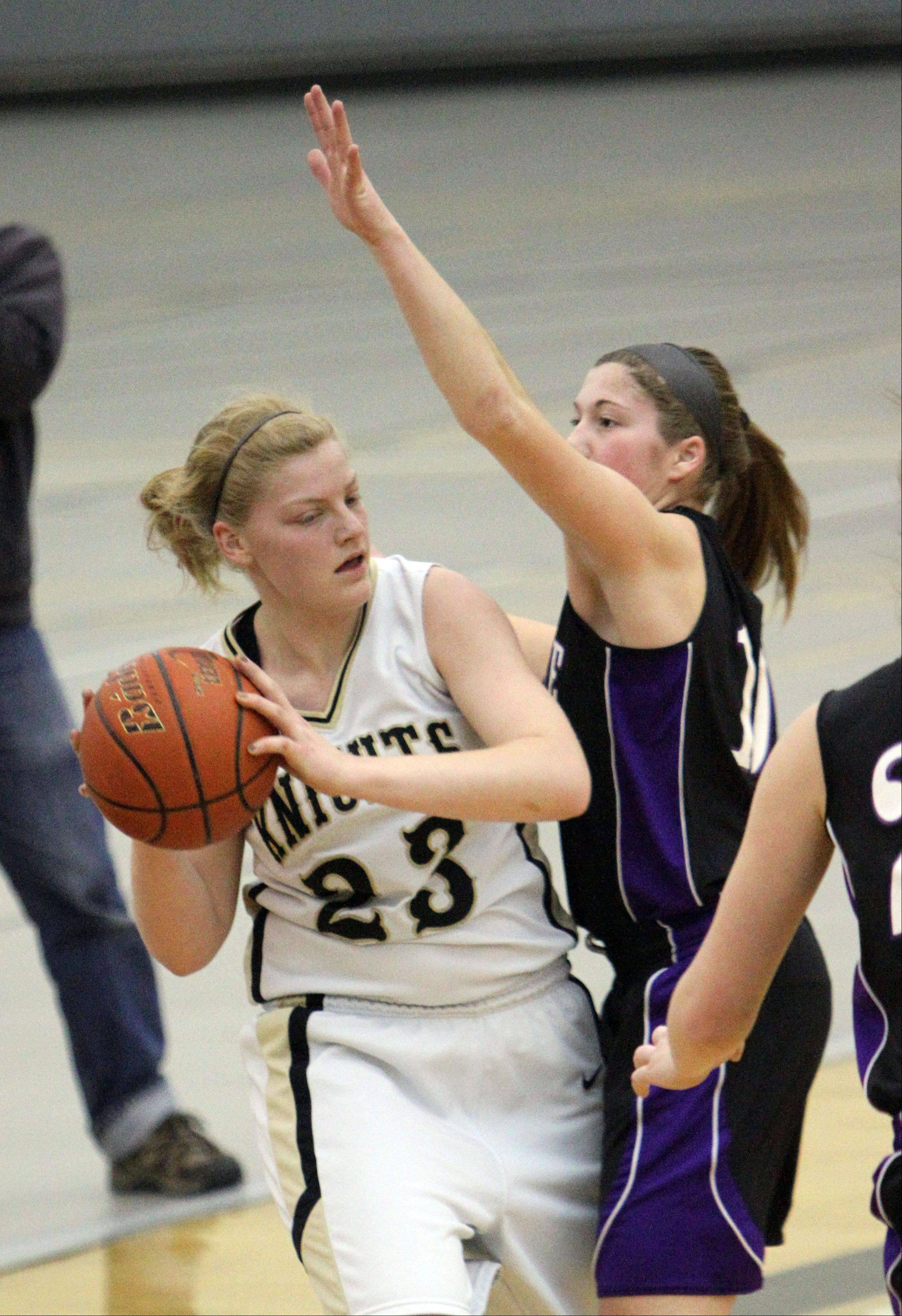Images from the Hampshire at Grayslake North girls basketball game Wednesday, Jan. 30.