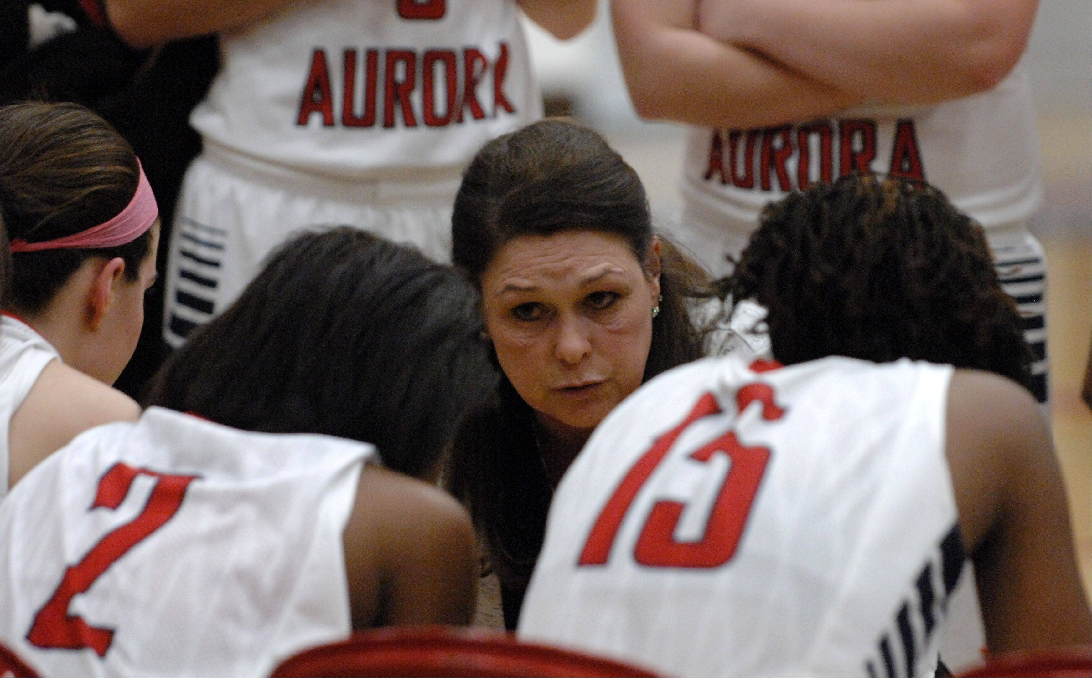 Images: Naperville North vs. West Aurora, girls basketball