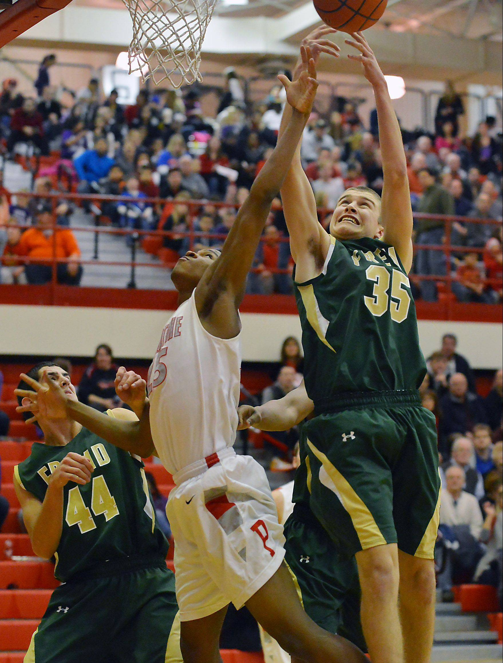 Palatine plays it Smart to stun Fremd