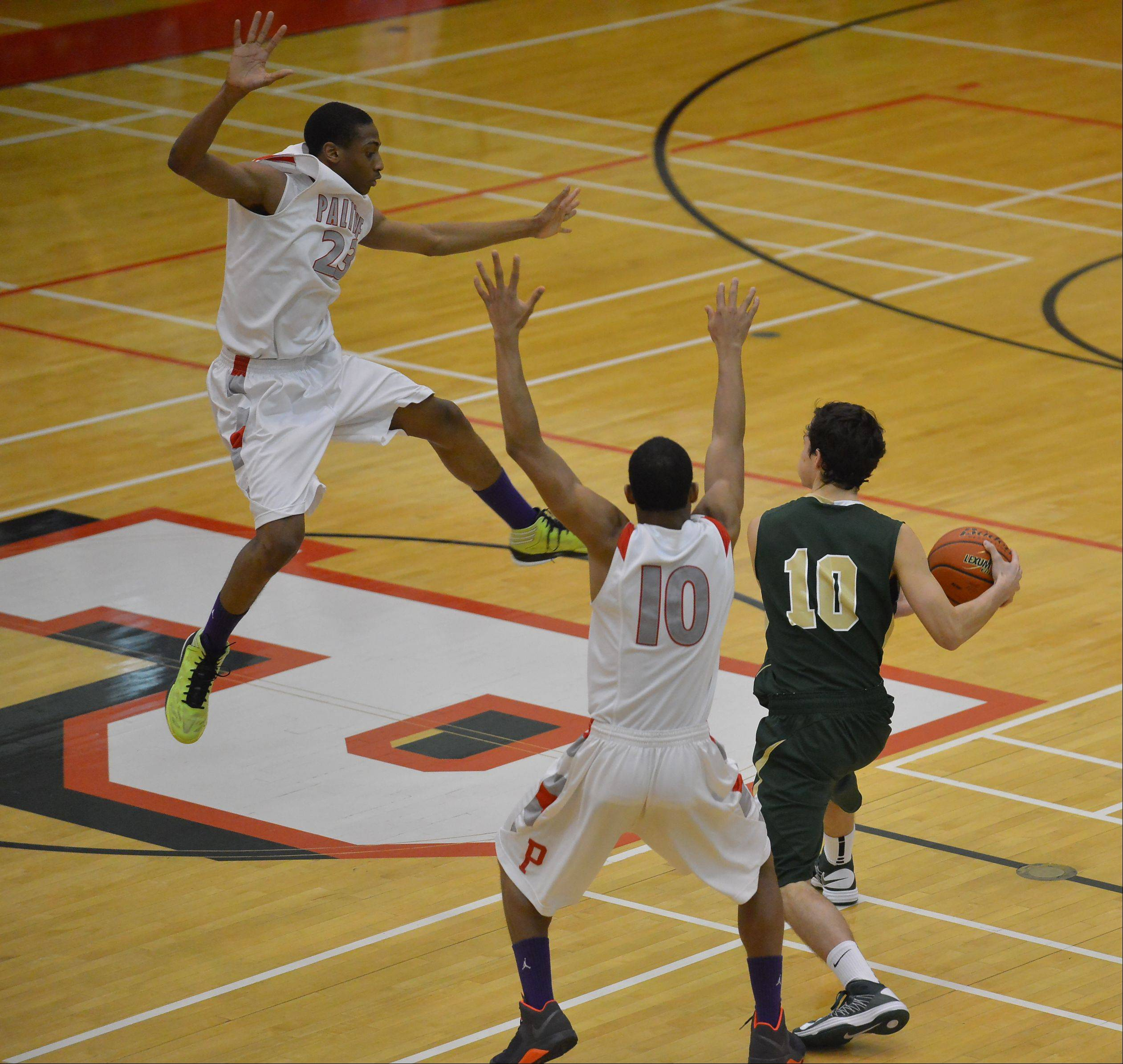 Images from the Fremd vs. Palatine boys basketball game on Friday, February 1, in Palatine.