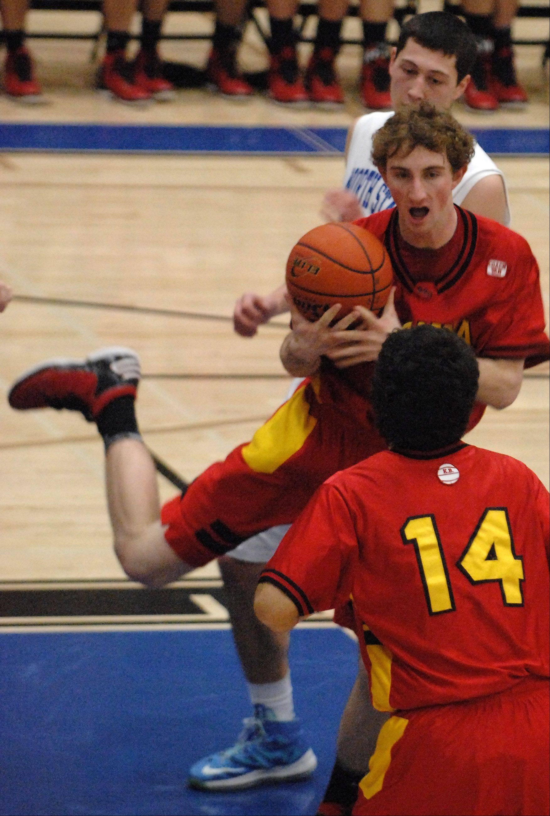 Images from the Batavia vs. St. Charles North boys basketball game Friday, February 1, 2013.