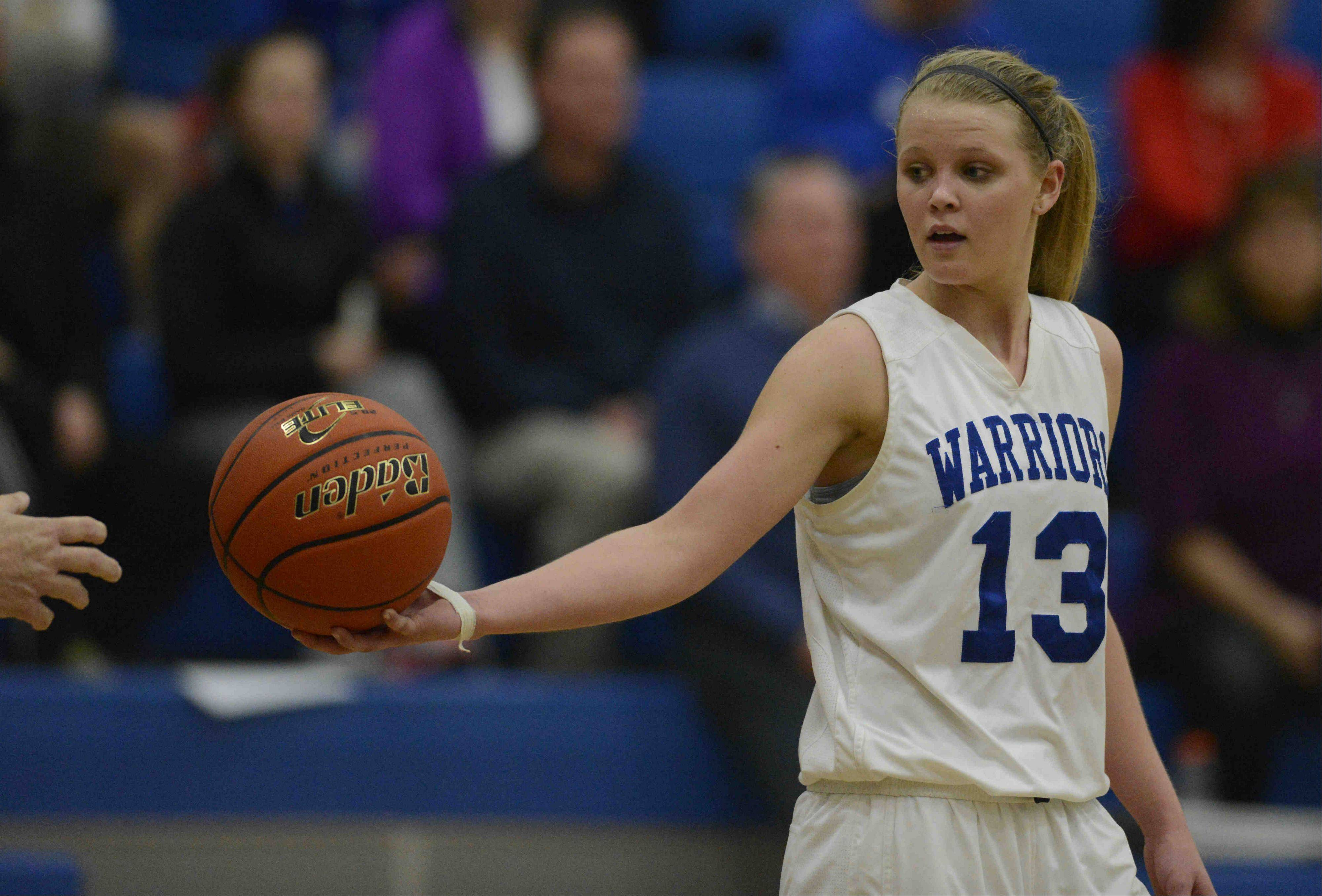 Junior McKaila Hays is one of the top players this season for Westminster Christian. The Warriors, who reached a sectional final last year, are the No. 1 seed in next week's Class 1A Harvest Christian regional.