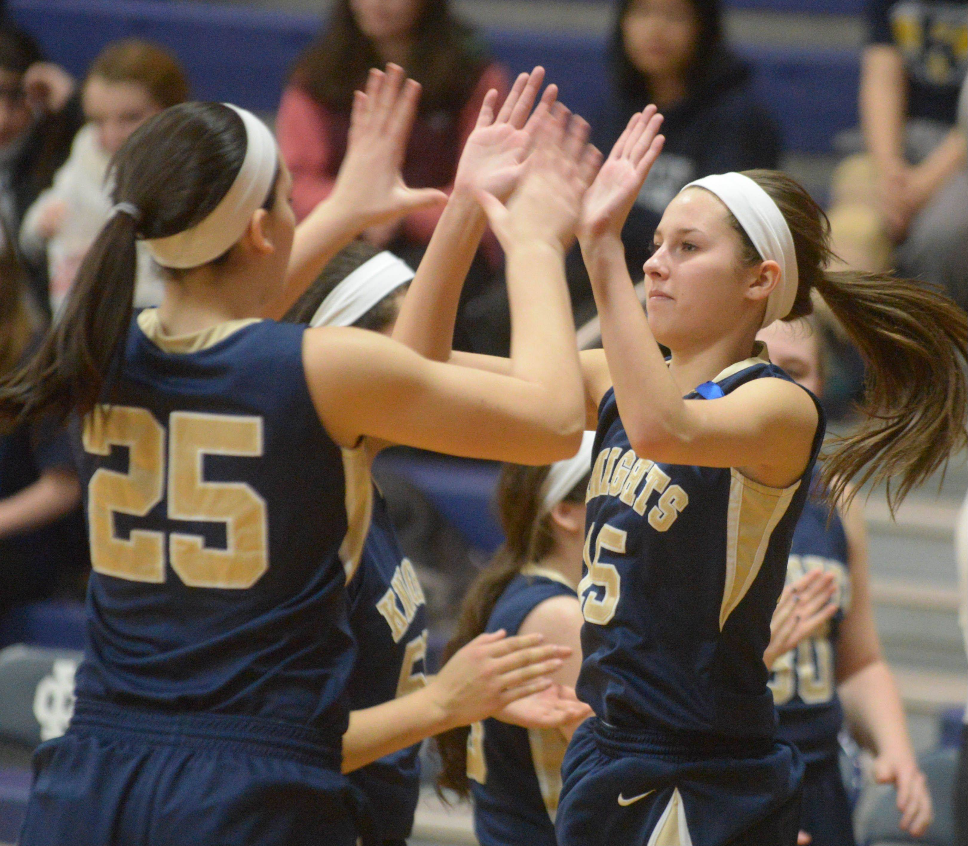 Images: Lisle vs. Immaculate Conception, girls basketball