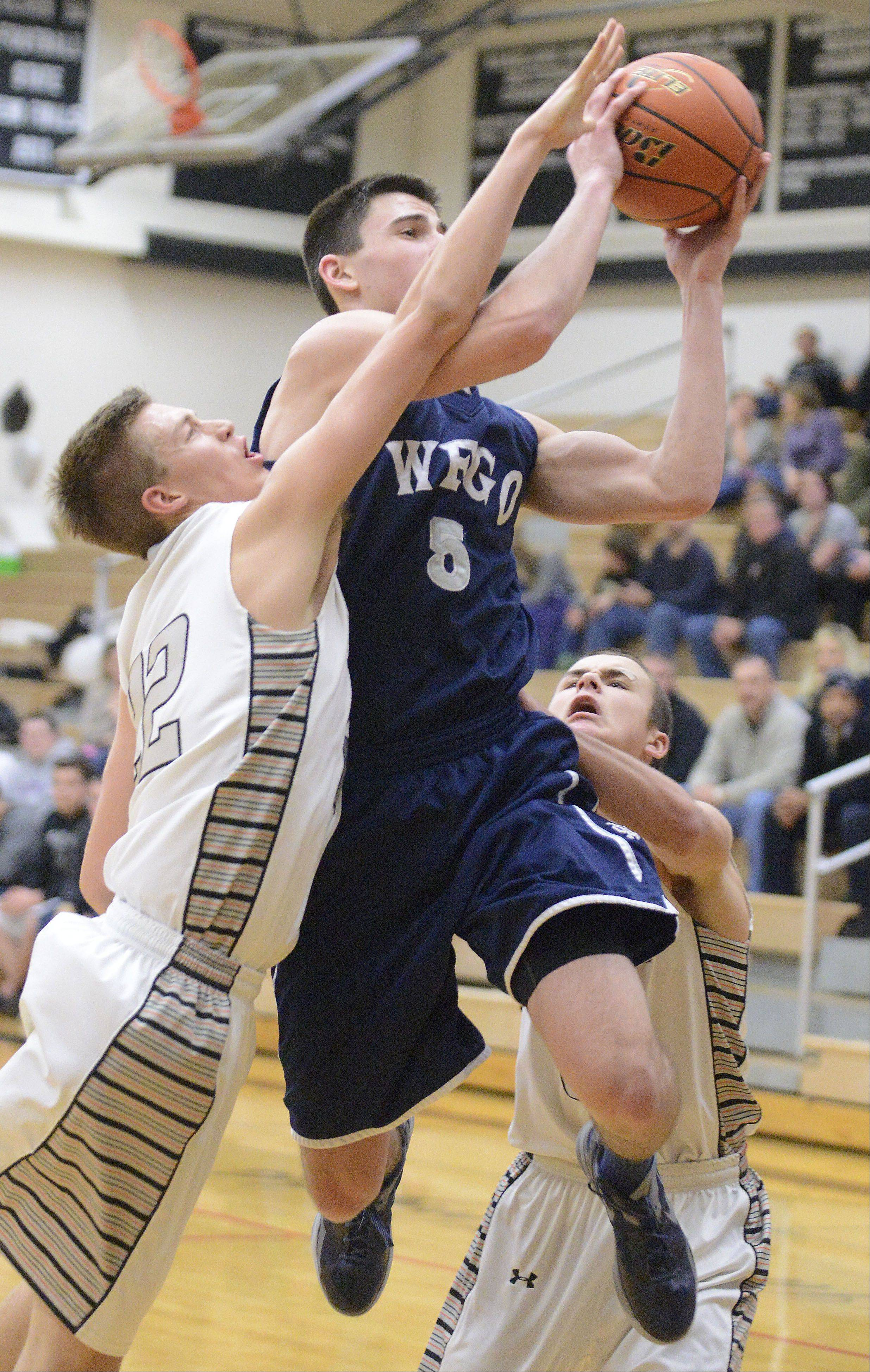 Images from the West Chicago vs. Kaneland boys basketball game, Tuesday February 5, 2013.