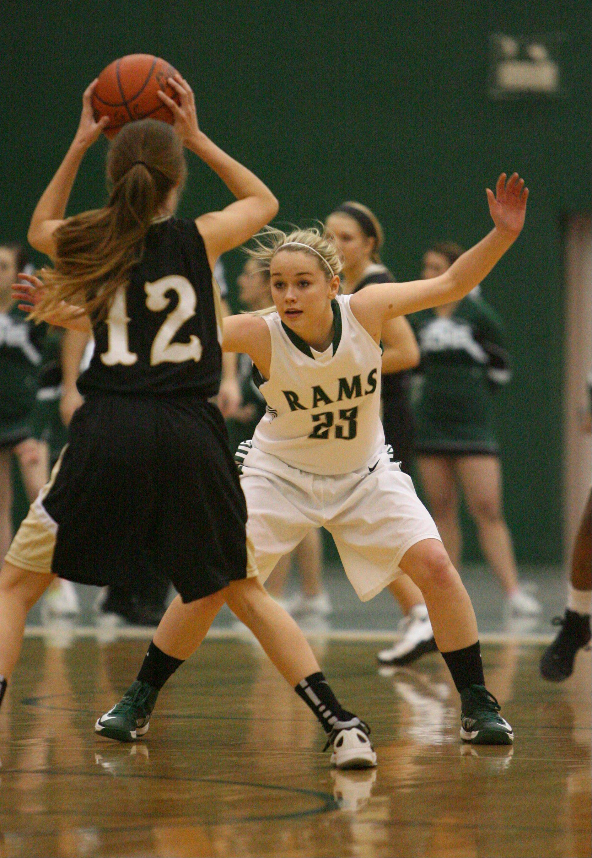 Images from the Grayslake North at Grayslake Central girls basketball game on Tuesday, Feb. 5.