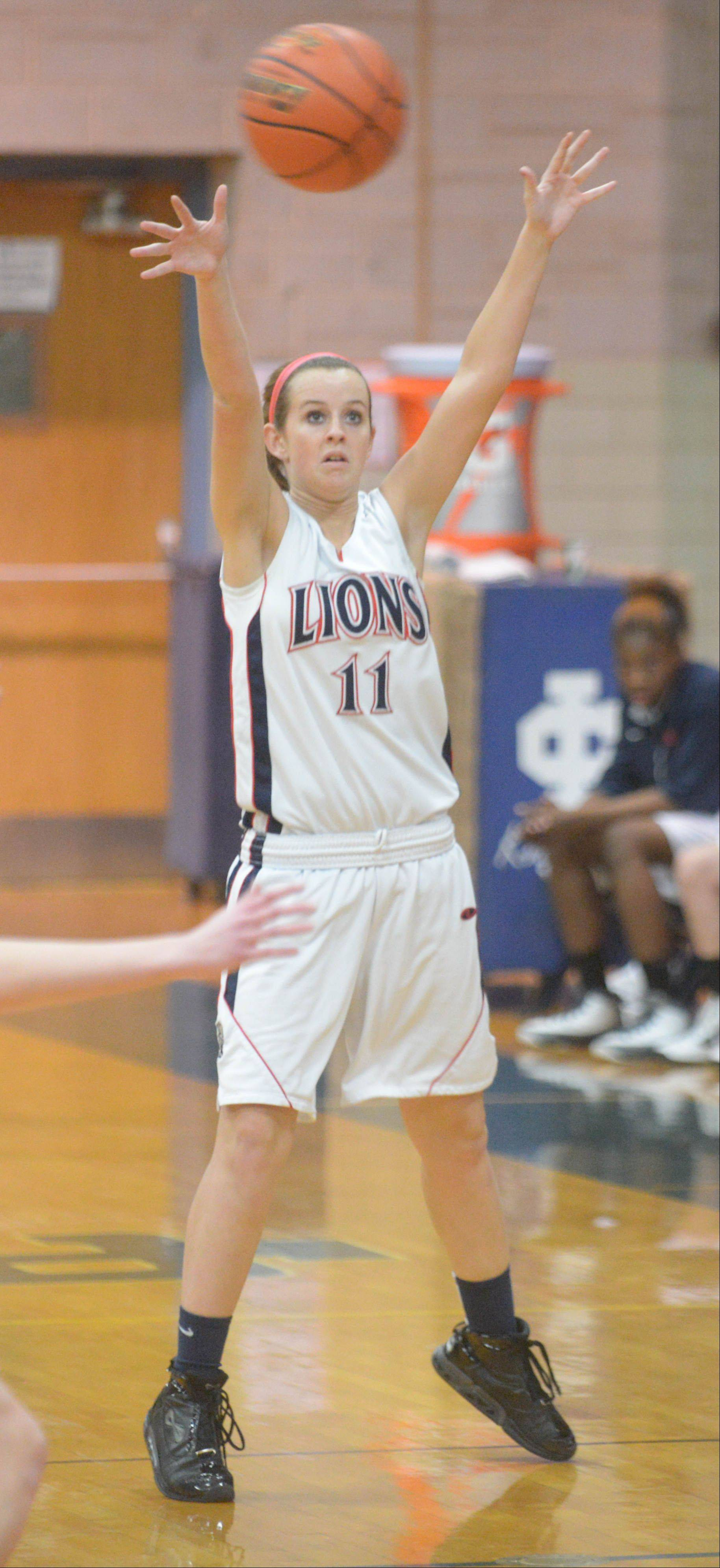 Immaculate Conception Catholic High School hosted Lisle Tuesday night for girls basketball in Class 2A regional semifinal action.