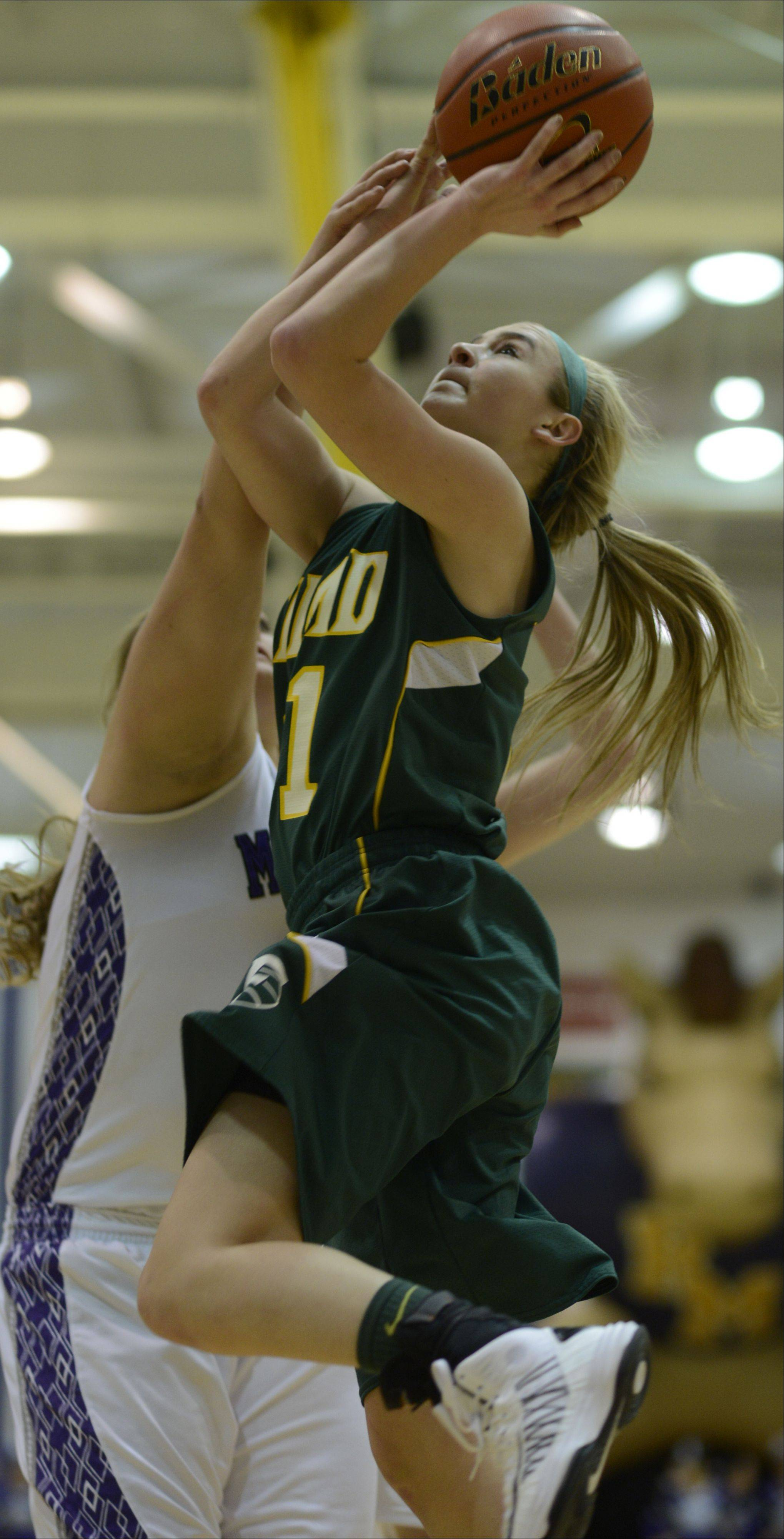 Images from the Rolling Meadows vs. Fremd girls MLS championship basketball game on Wednesday, February 6th, in Rolling Meadows