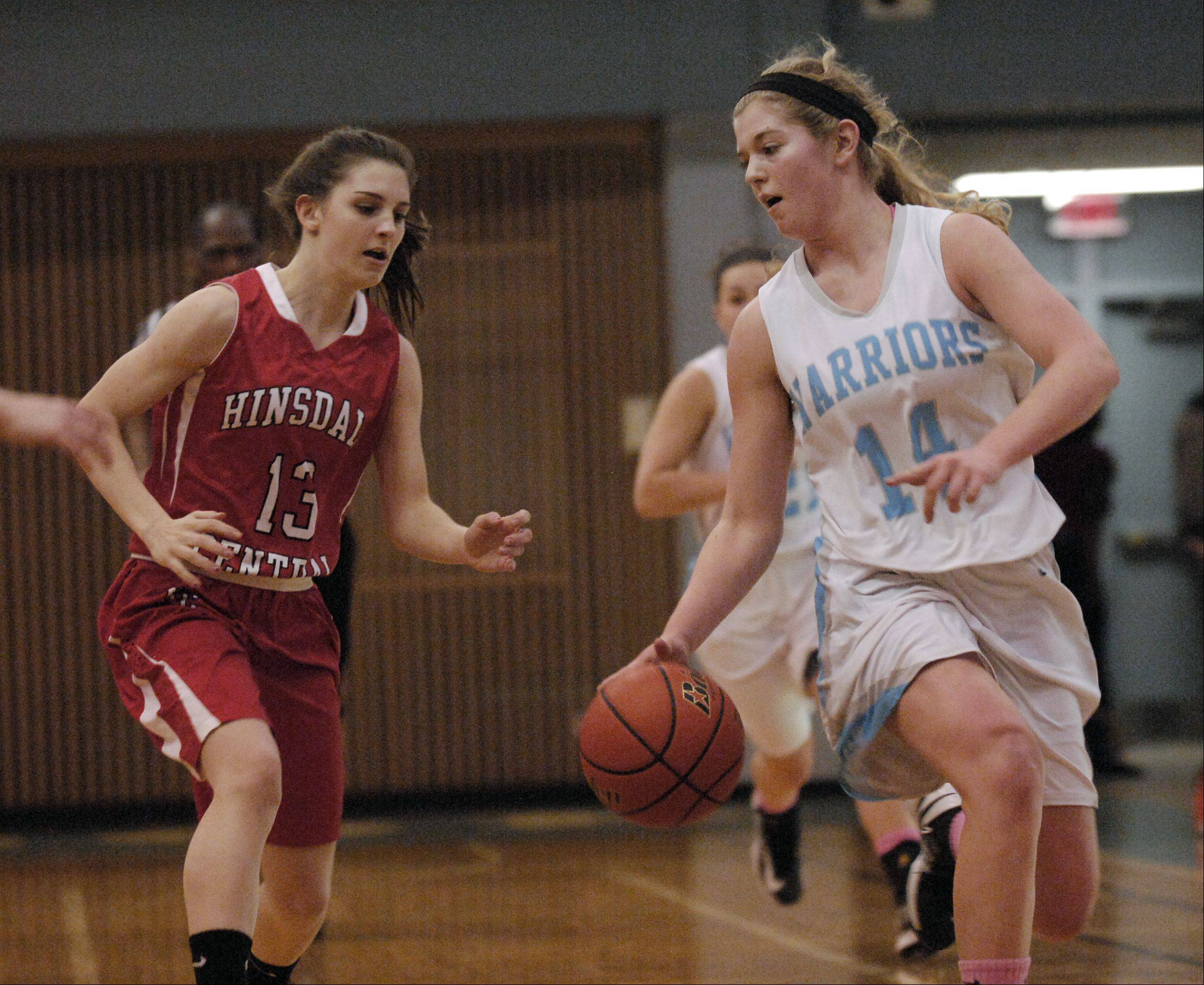 Willowbrook High School hosted Hinsdale Central Wednesday night for girls basketball.