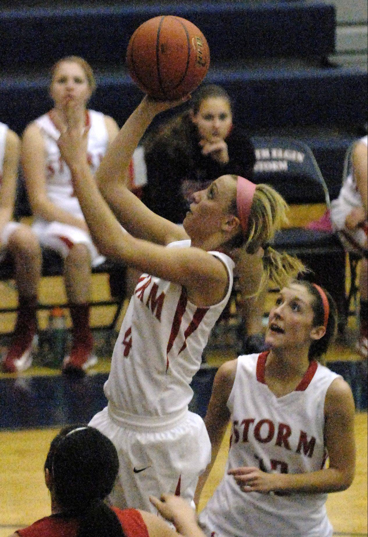 Wentling's 3s lift South Elgin past Batavia
