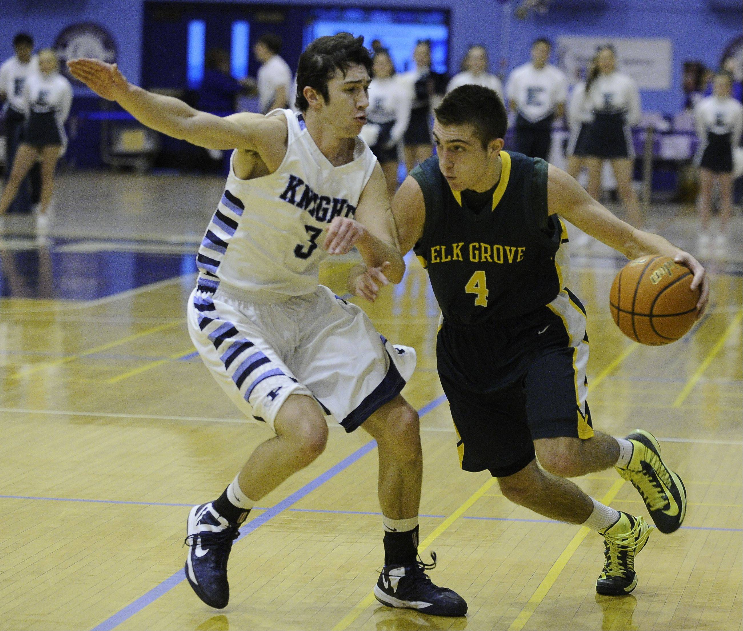 Images from the Elk Grove vs. Prospect boys basketball game on Friday, February 8th.