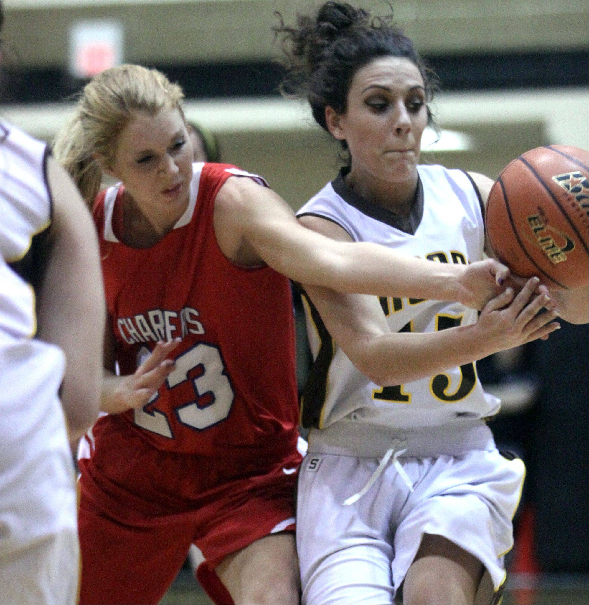 Images from the Jacobs vs. Dundee-Crown girls regional basketball game Monday, February 11, 2013.