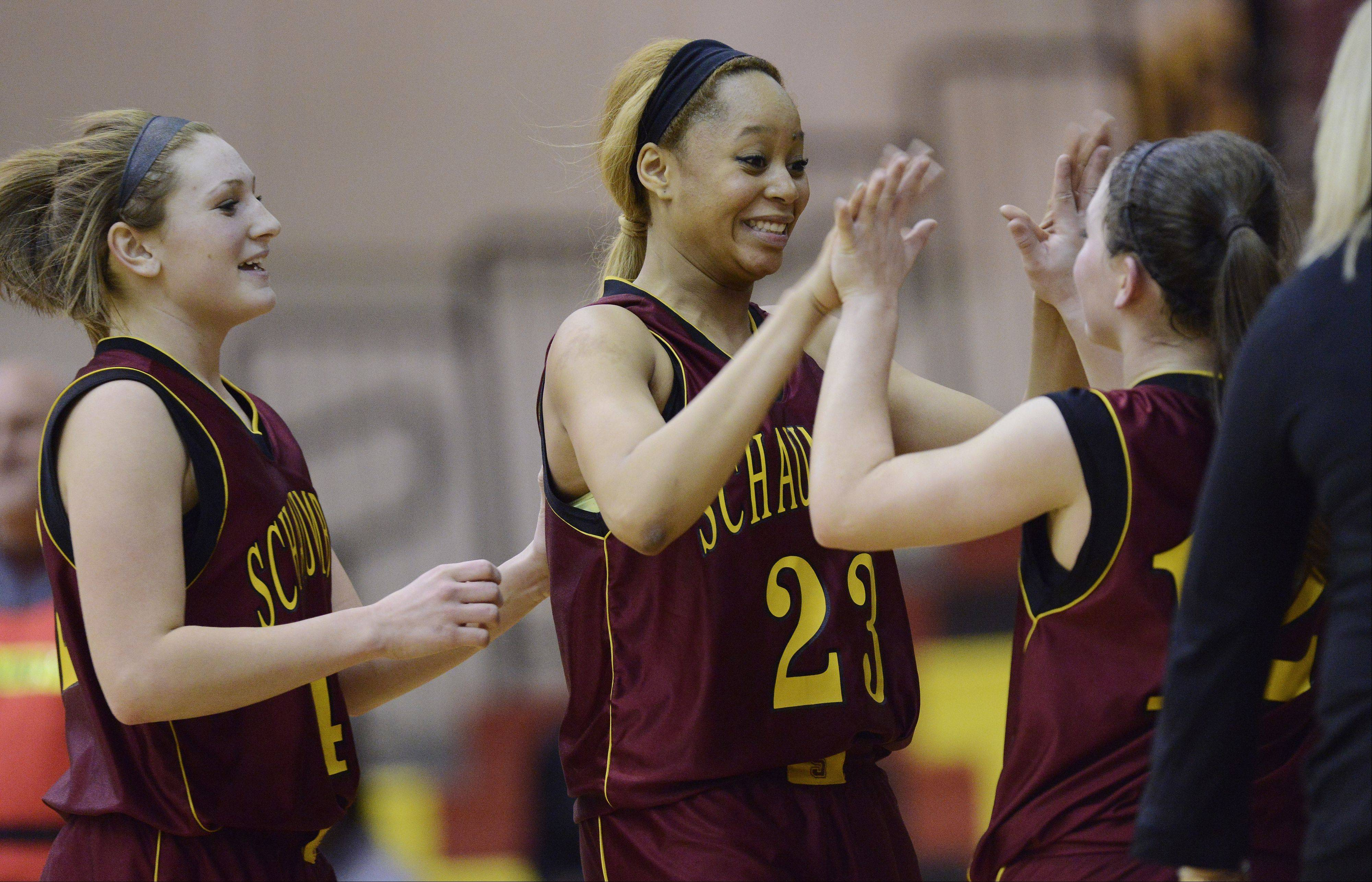 Images: Schaumburg vs. Proviso East, girls basketball