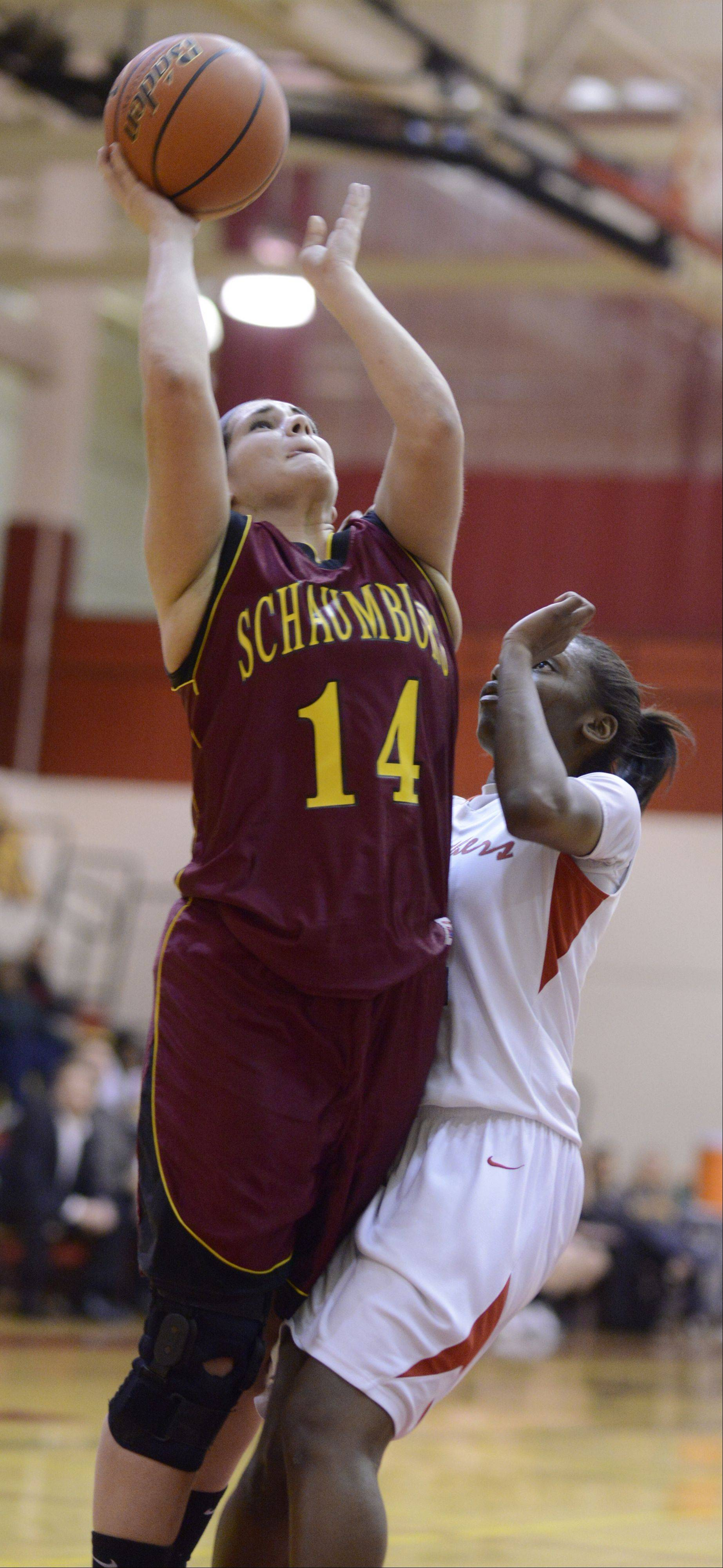 Images from the Schaumburg vs. Proviso East girls basketball game on Tuesday, February 12th, in Schaumburg.