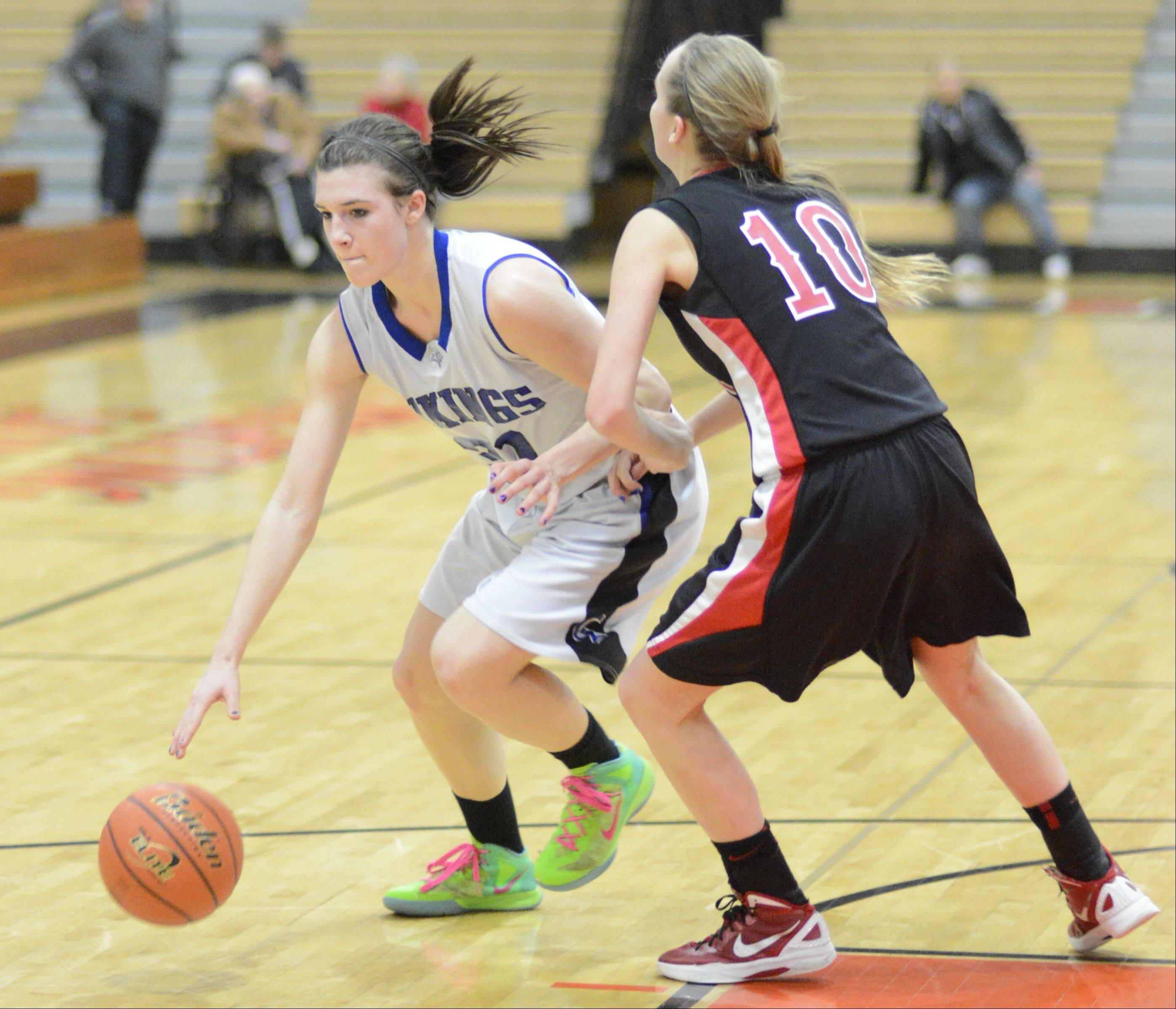 Images from the Geneva vs. Glenbard East girls basketball game Tuesday, February 12, 2013.