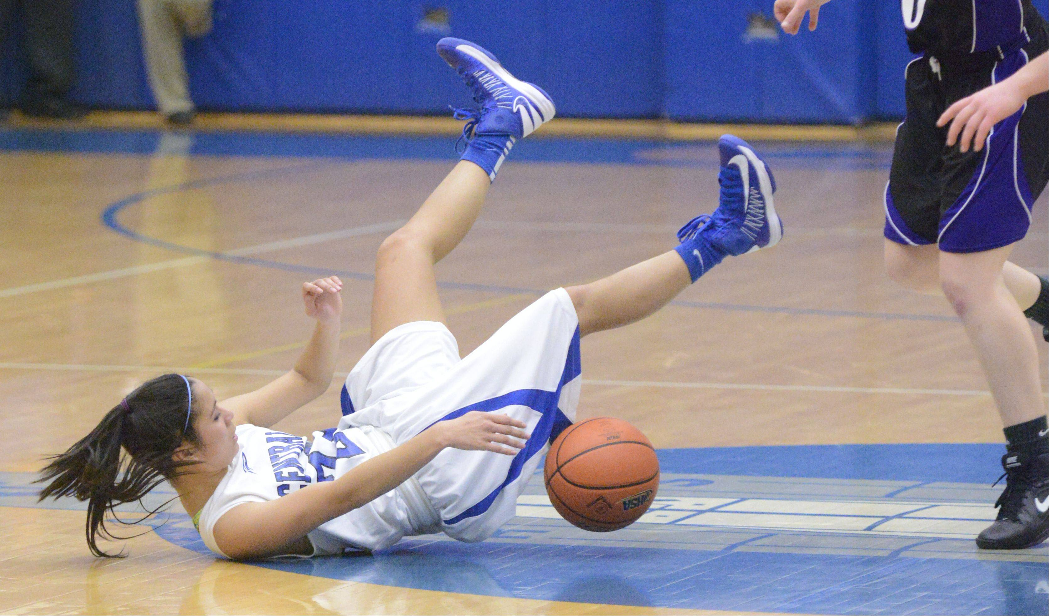 Images: Burlington Central vs. Hampshire, girls basketball