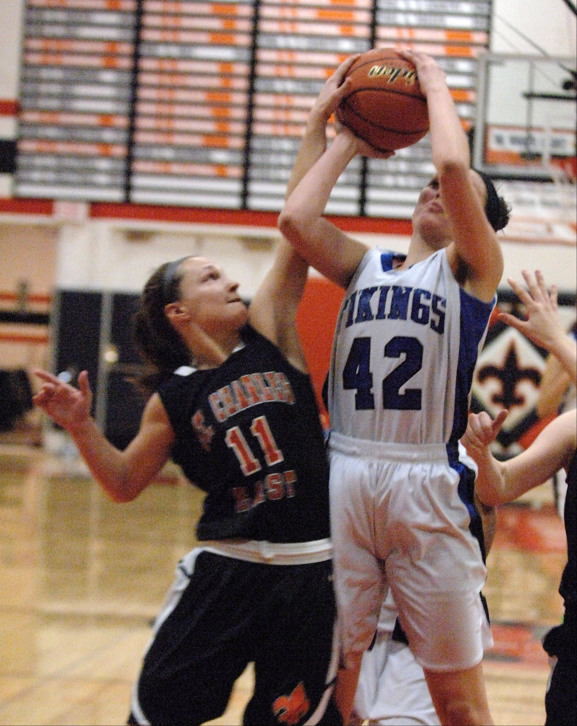 Images from the Geneva vs. St. Charles East regional championship game Thursday, February 14, 2013.