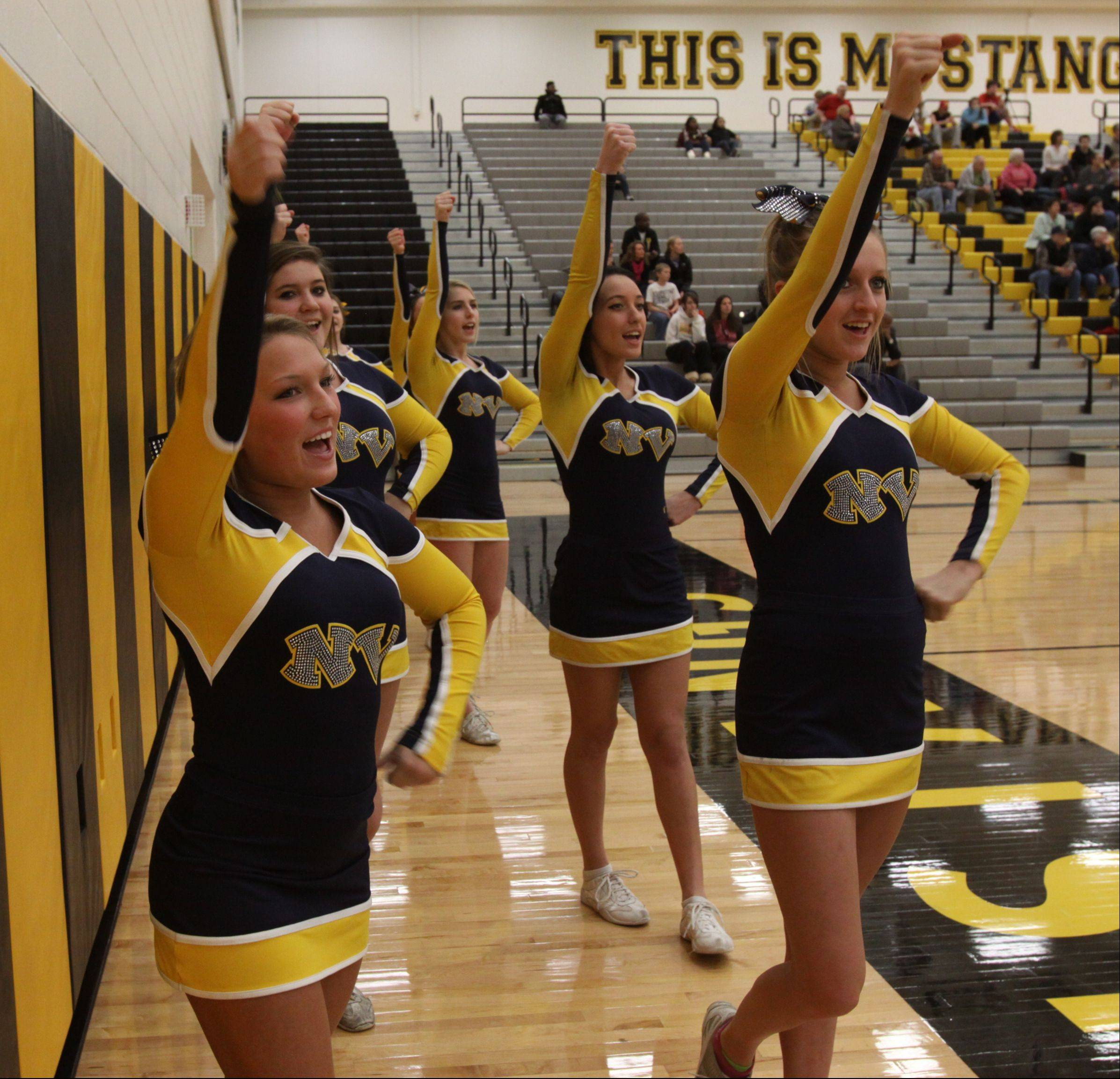 Metea Valley High School hosted Neuqua Valley High School Friday night for girls Class 4A regional final basketball action.