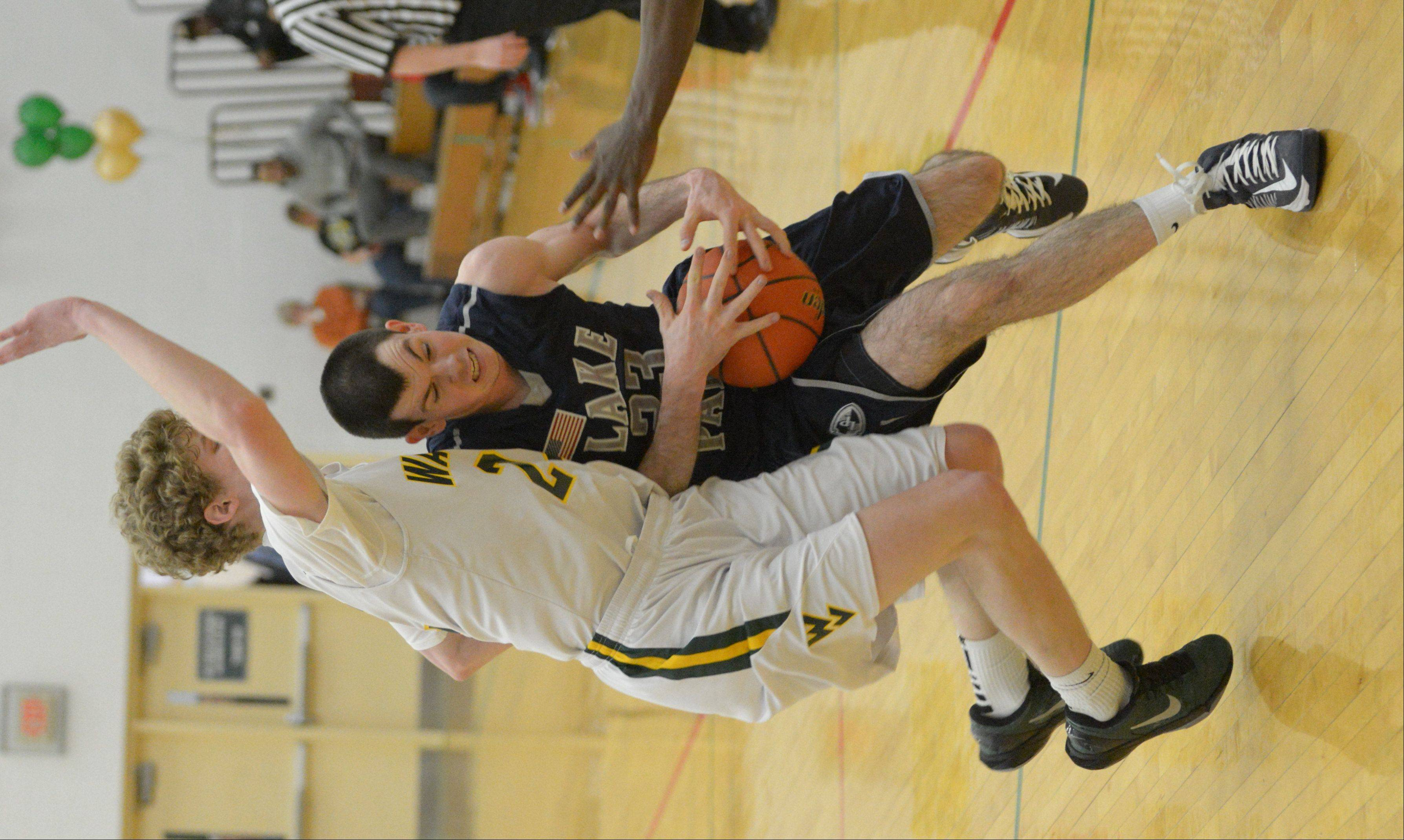 Waubonsie Valley High School hosted Lake Park High School Friday night for boys basketball.