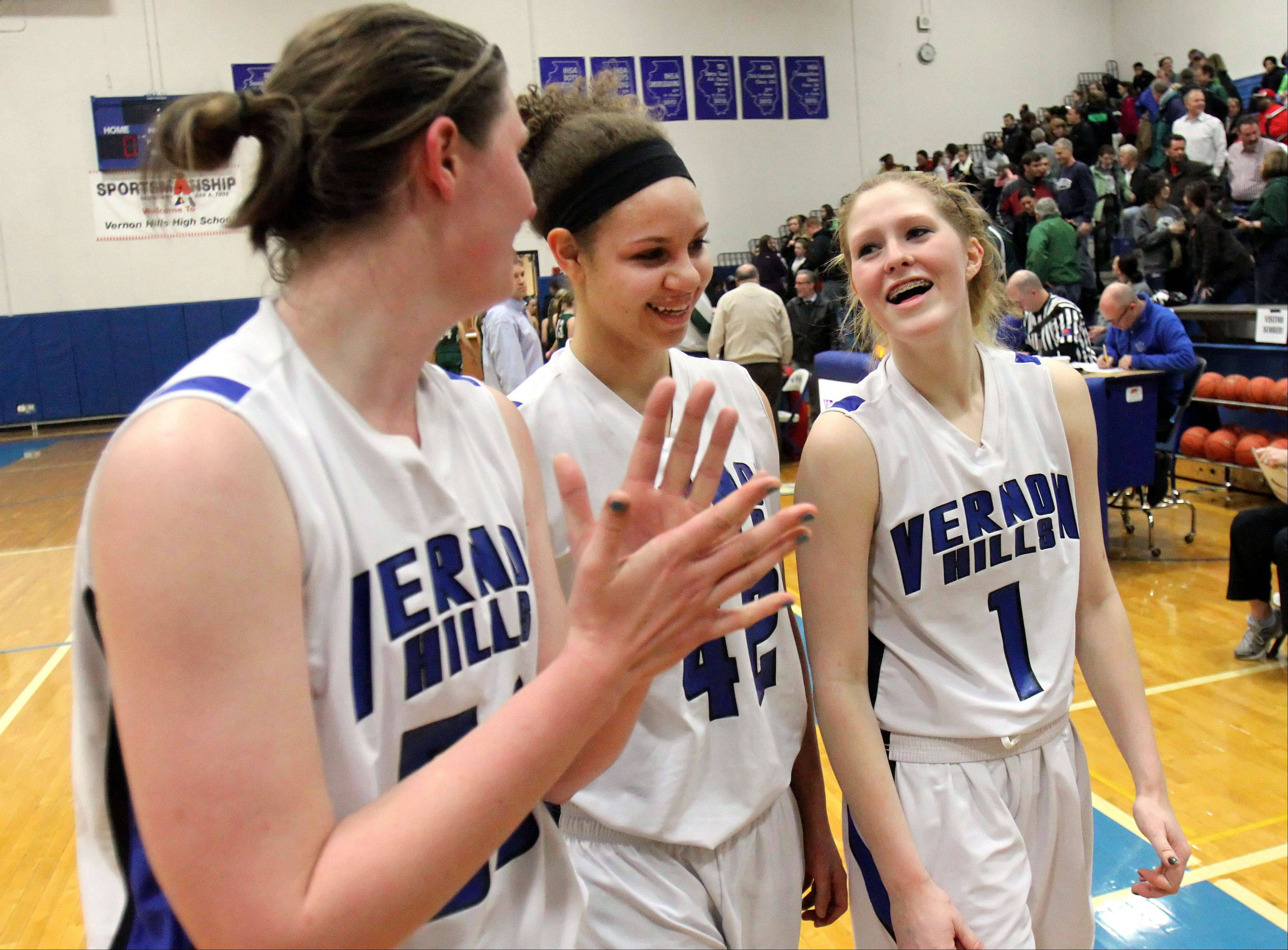 Images: Grayslake Central vs. Vernon Hills, girls basketball