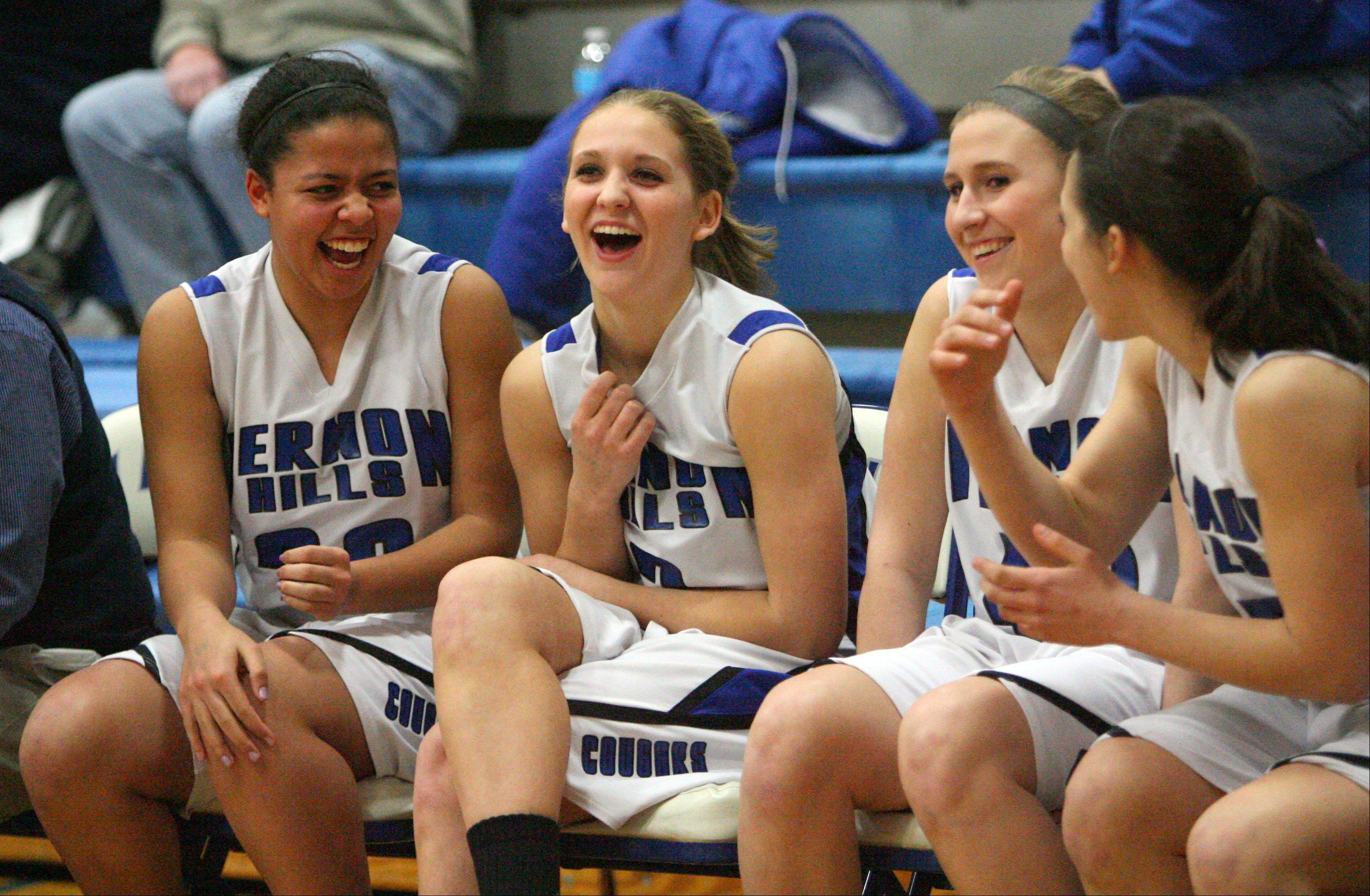 Images from the Grayslake Central vs. Vernon Hills girls basketball game on Tuesday, Feb. 19 in Vernon Hills.