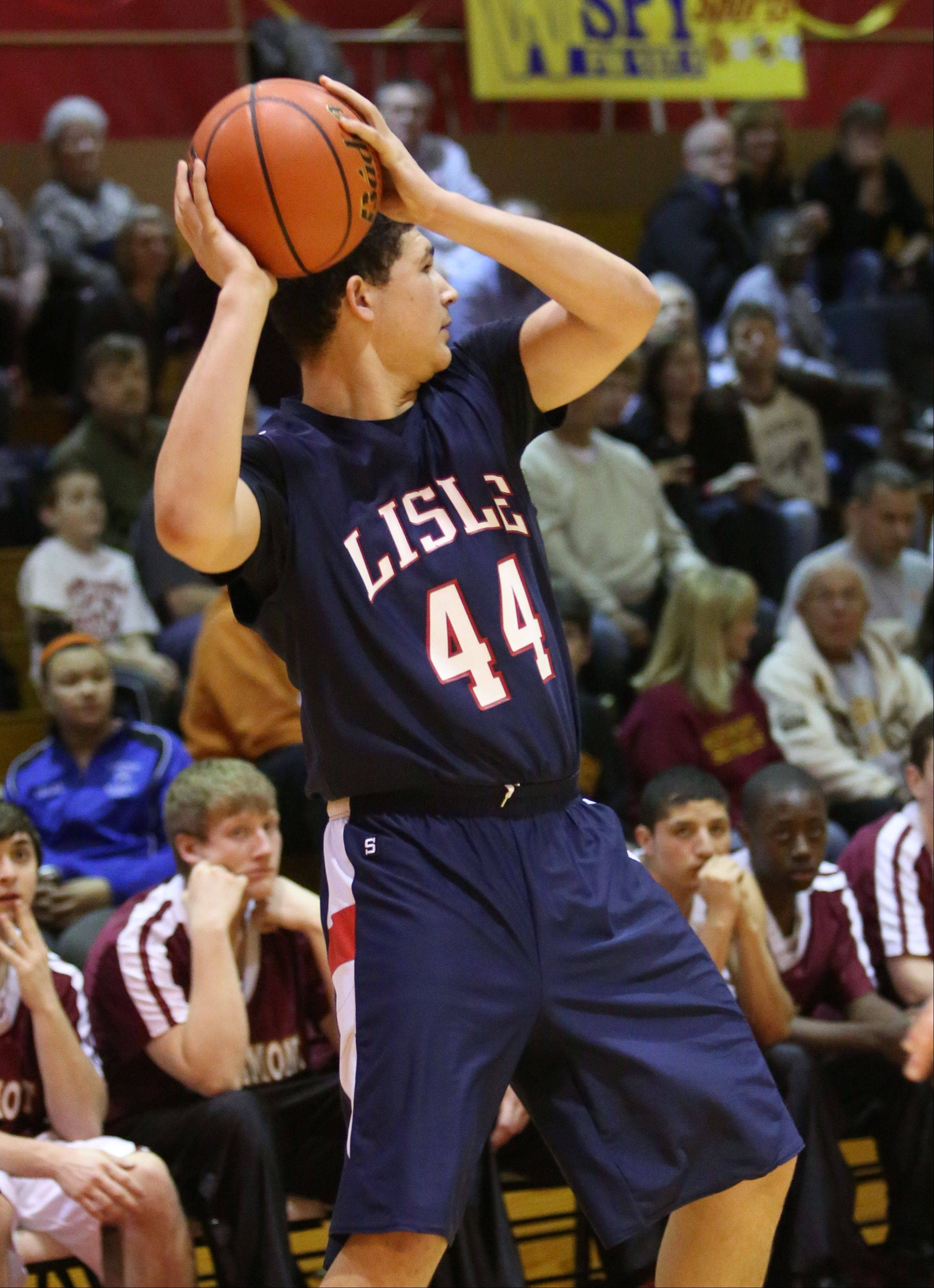 Westmont hosted Lisle Monday night at Westmont High School for Class 2A regional boys basketball.