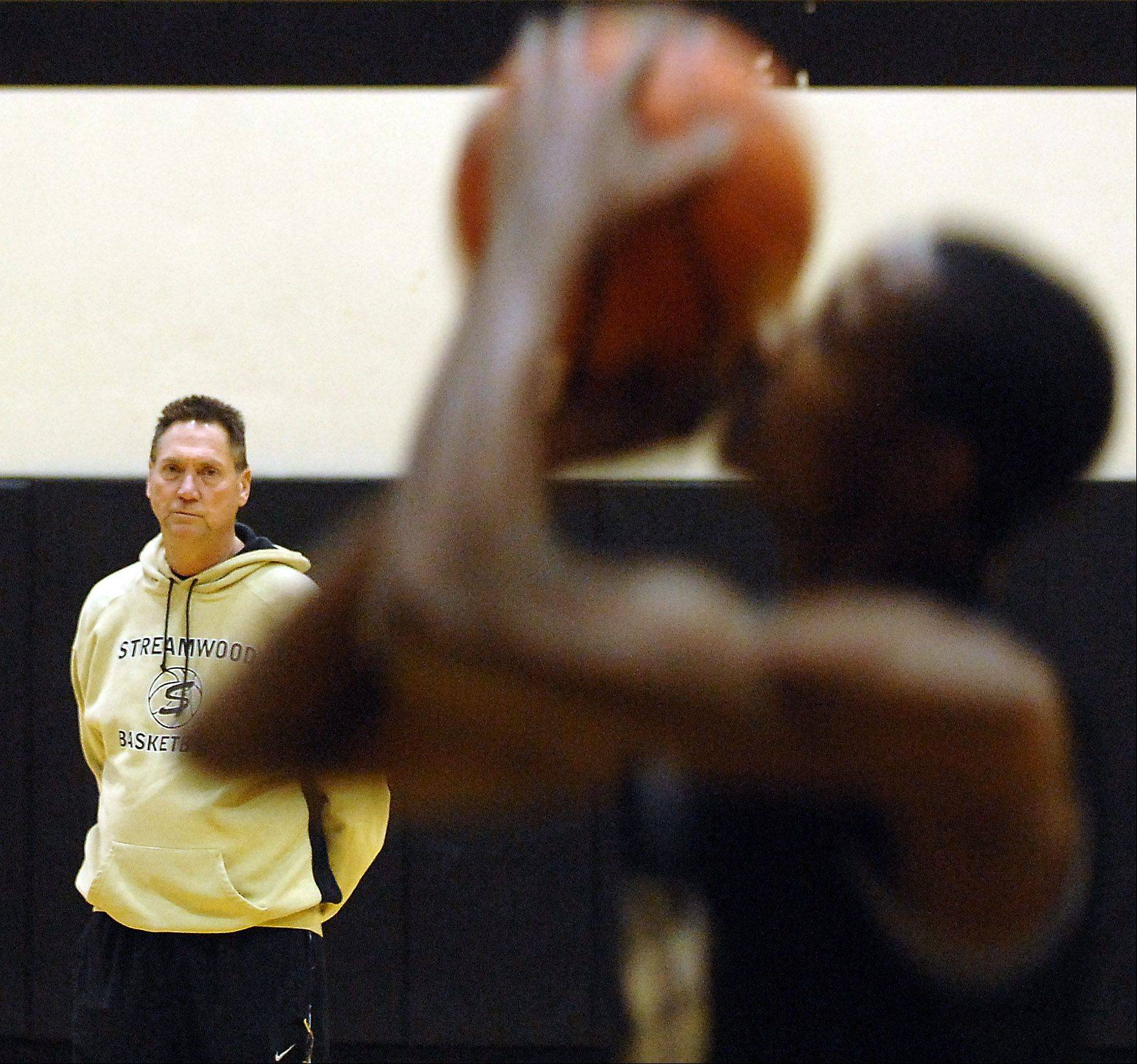 Streamwood boys basketball coach Tim Jones will be retiring after this year.