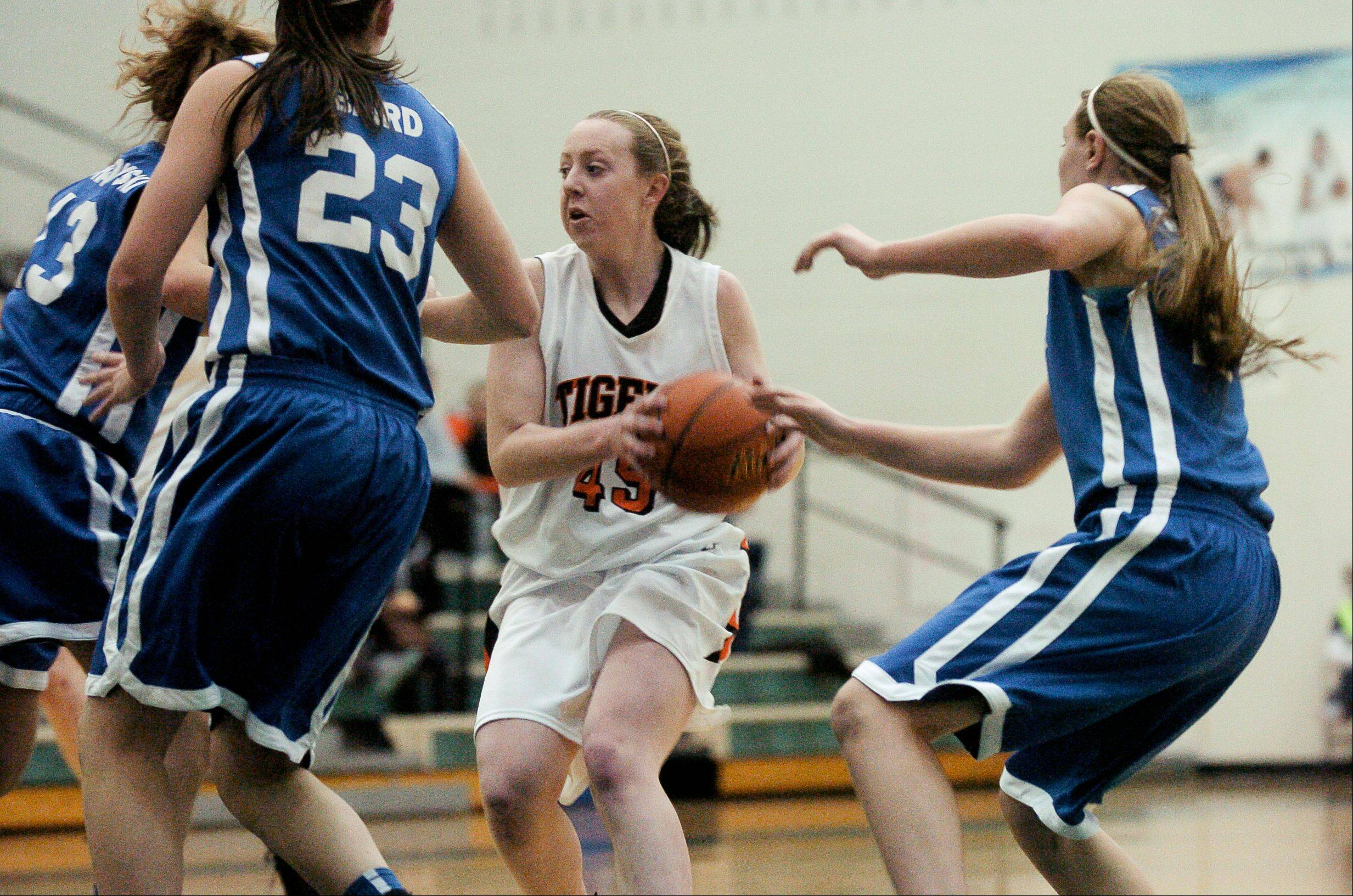Images: Wheaton North vs. Wheaton Warrenville South, girls basketball