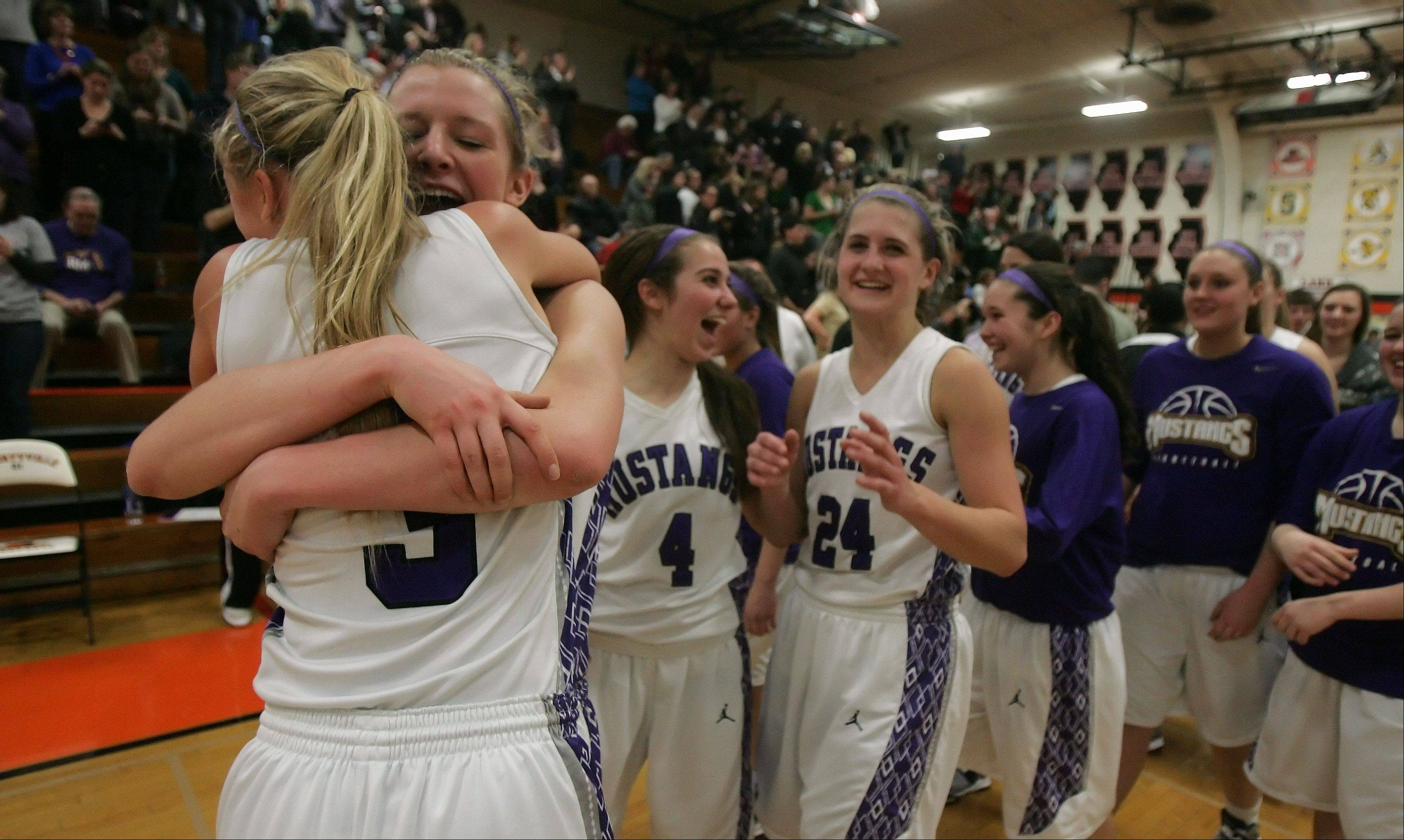 Images: Rolling Meadows vs. Fremd, girls basketball