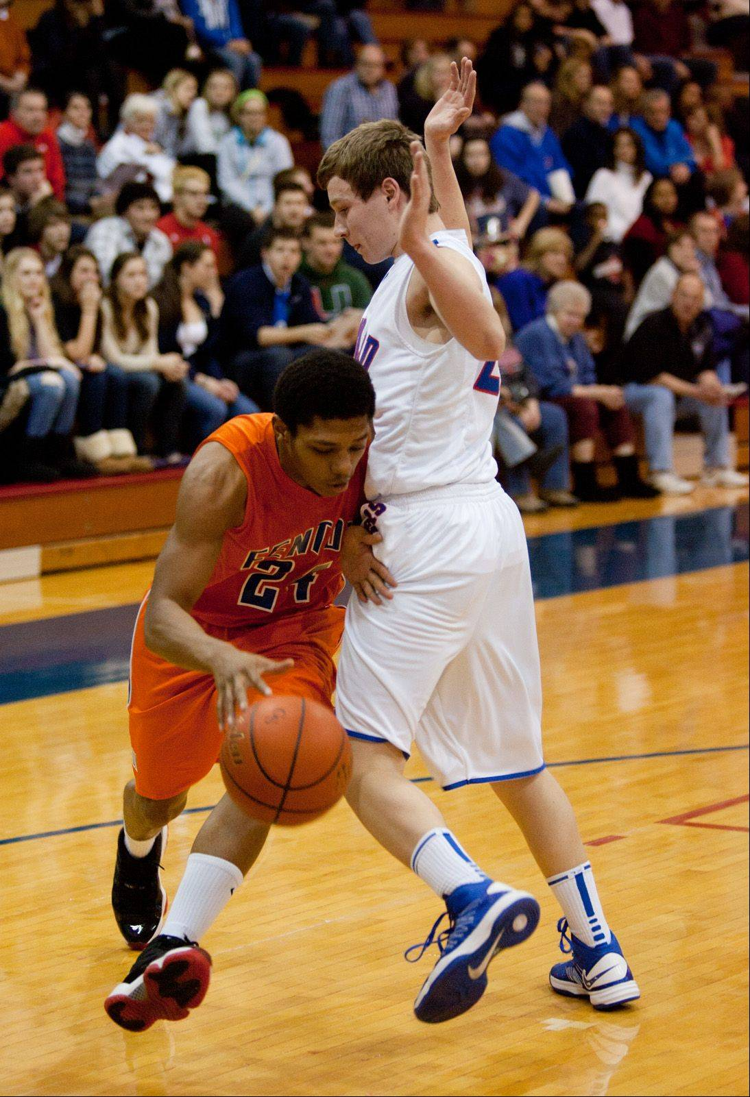 Glenbard South hosted Fenton Friday night for boys basketball.