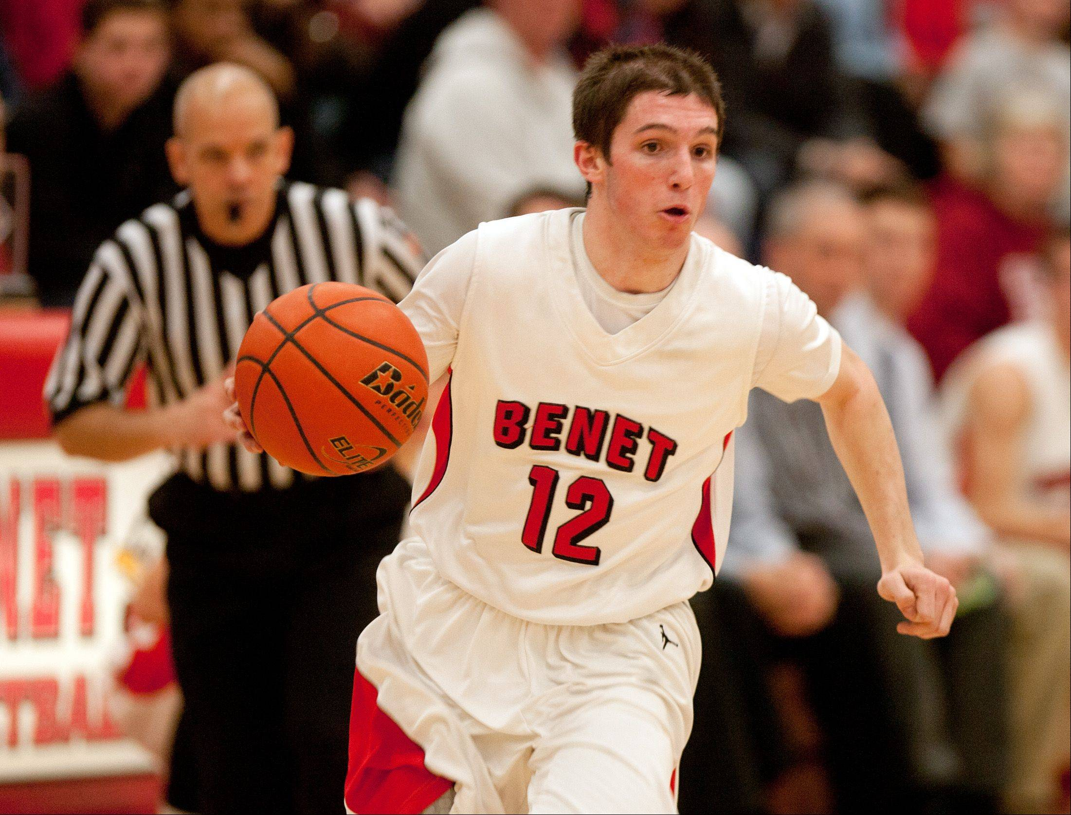 Benet is seeded No. 2 at the Class 4A Bolingbrook sectional.