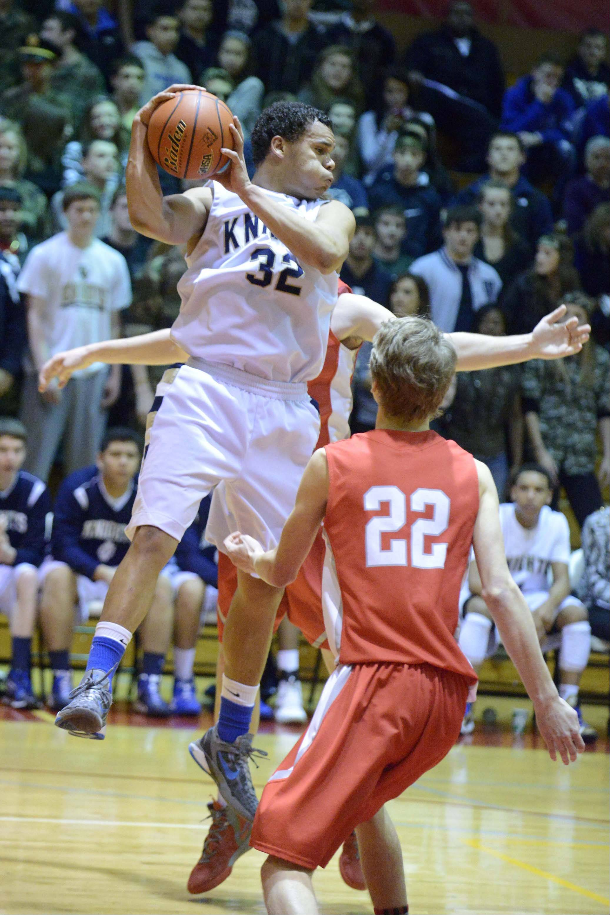 Images from the Aurora Christian vs. Immaculate Conception boys basketball game Friday, February 22, 2013 in Westmont.