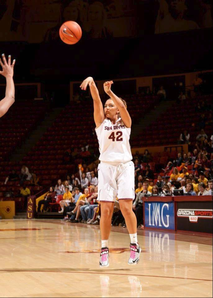 Bartlett graduate Haley Videckis is enjoying a stellar freshman season at Arizona State.
