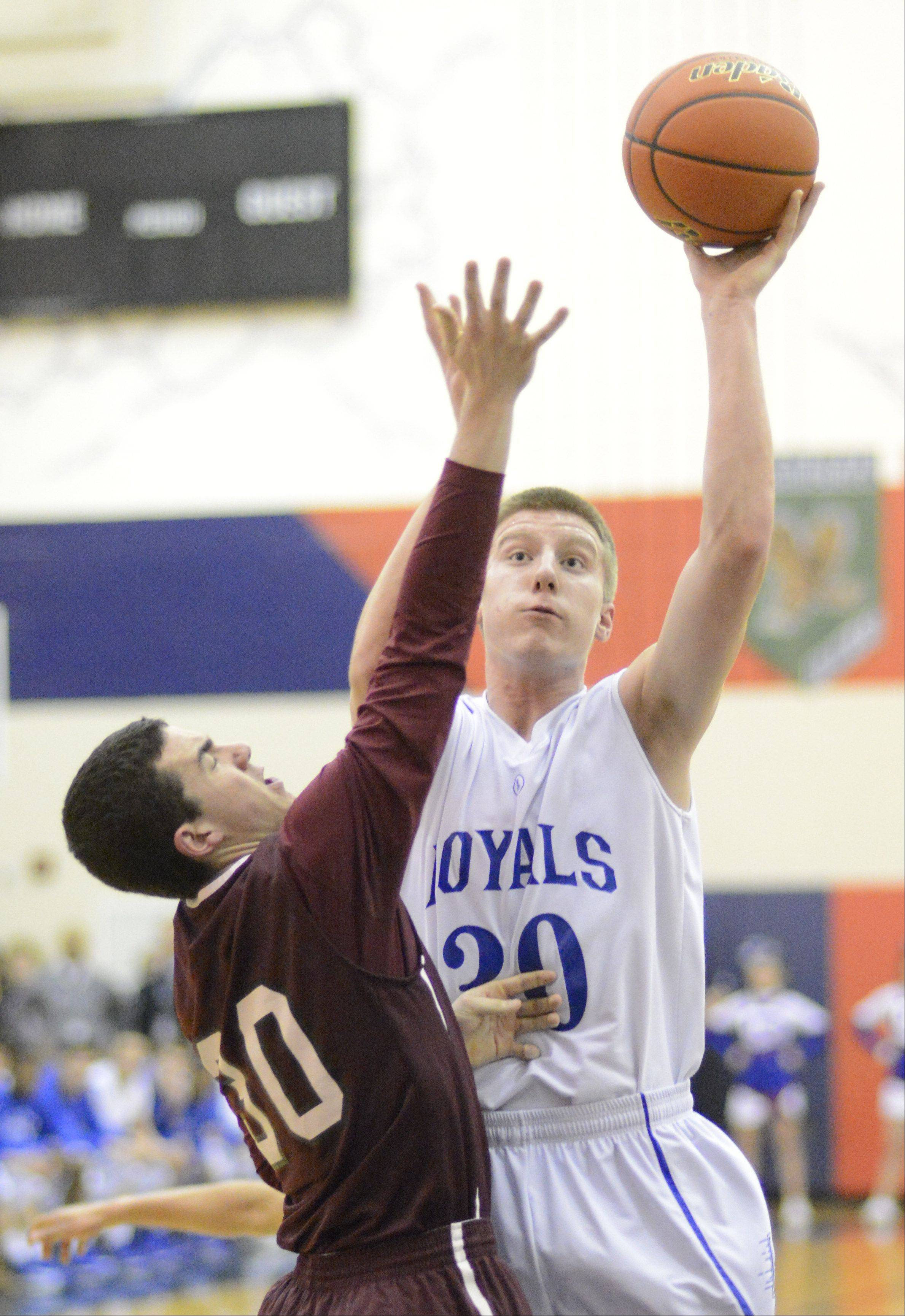 Images from the Larkin vs. Elgin Class 4A regional boys basketball game Wednesday, February 27, 2013.